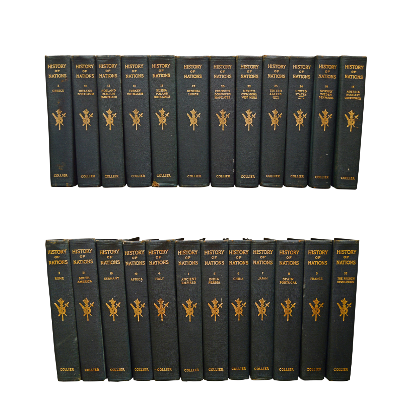 "Collier's ""History of Nations"" 24-Volume Set"
