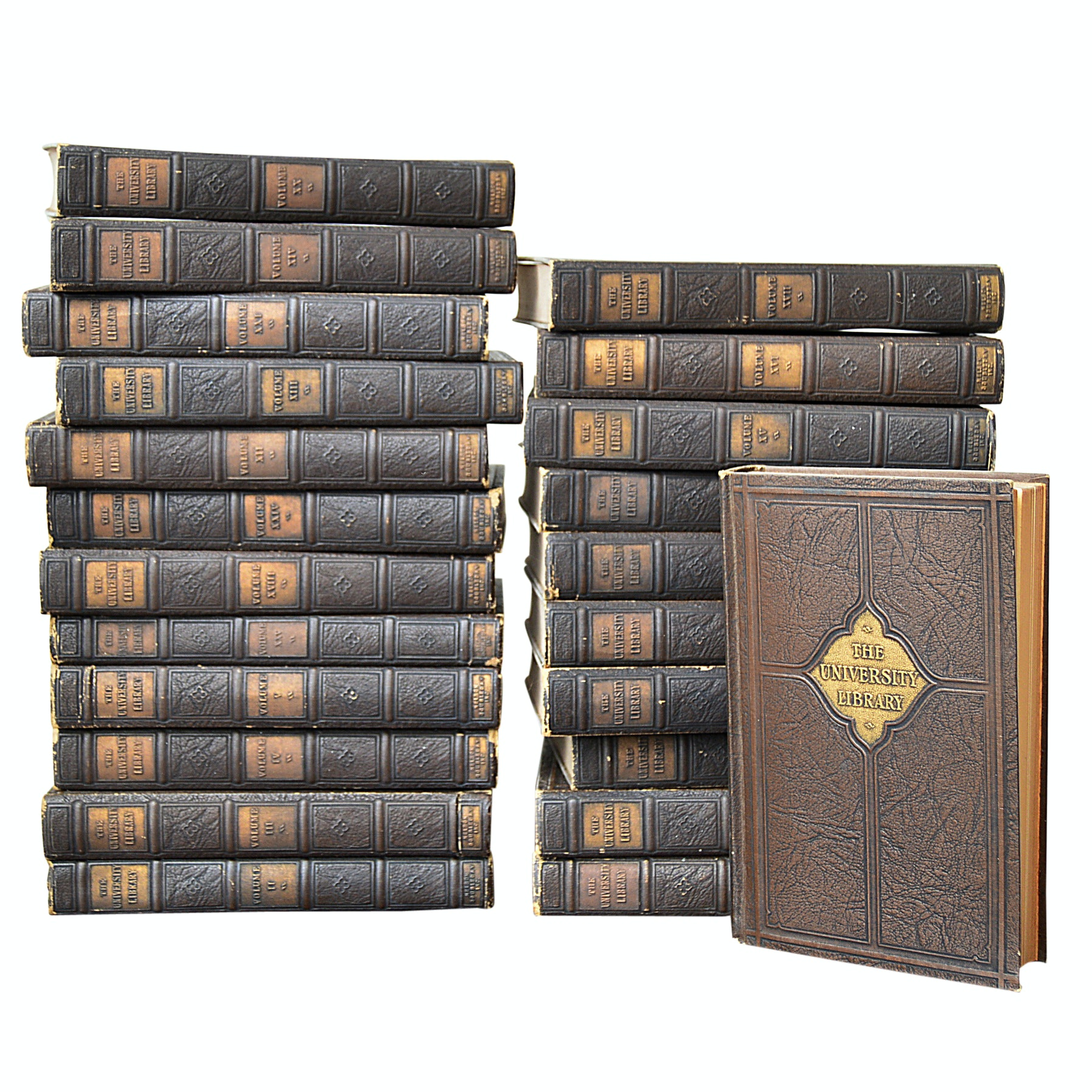 "Partial Set of ""The University Library"" edited by John Finley circa 1927"