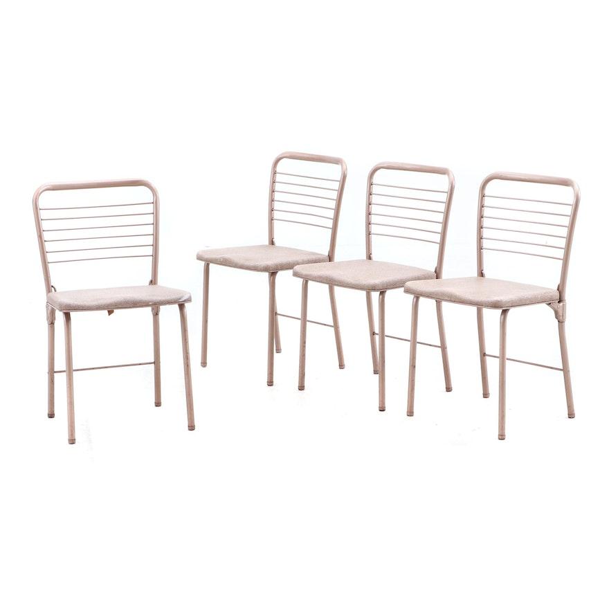 Super Vintage Cosco Fashion Fold Metal Folding Chairs From The Creativecarmelina Interior Chair Design Creativecarmelinacom