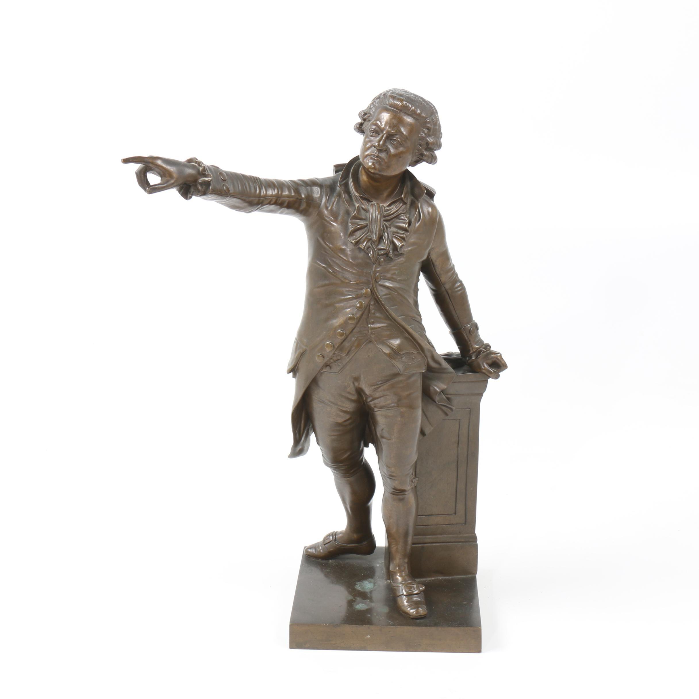 """Bronze Sculpture after André Truphème """"Mirabeau"""""""