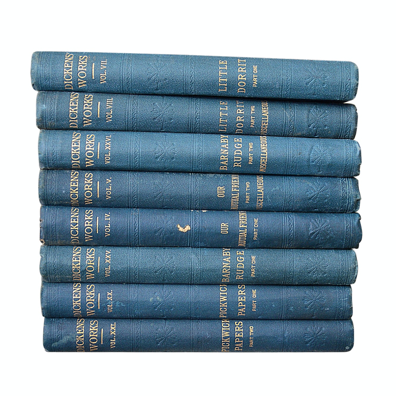 """The Works of Charles Dickens"" 10 Volume Set"