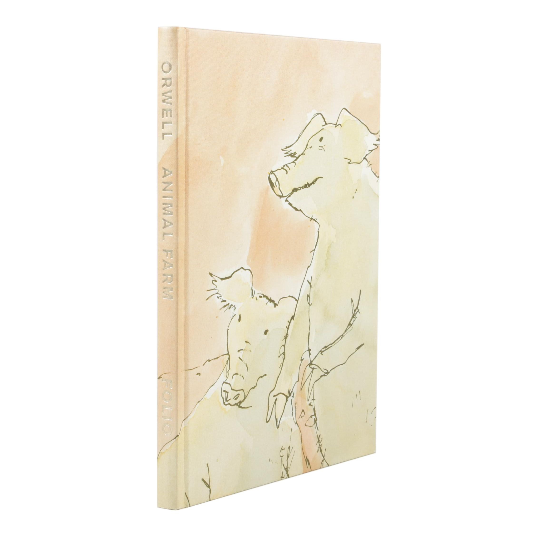 "Illustrated Folio Society Edition ""Animal Farm"" by George Orwell, 1997"