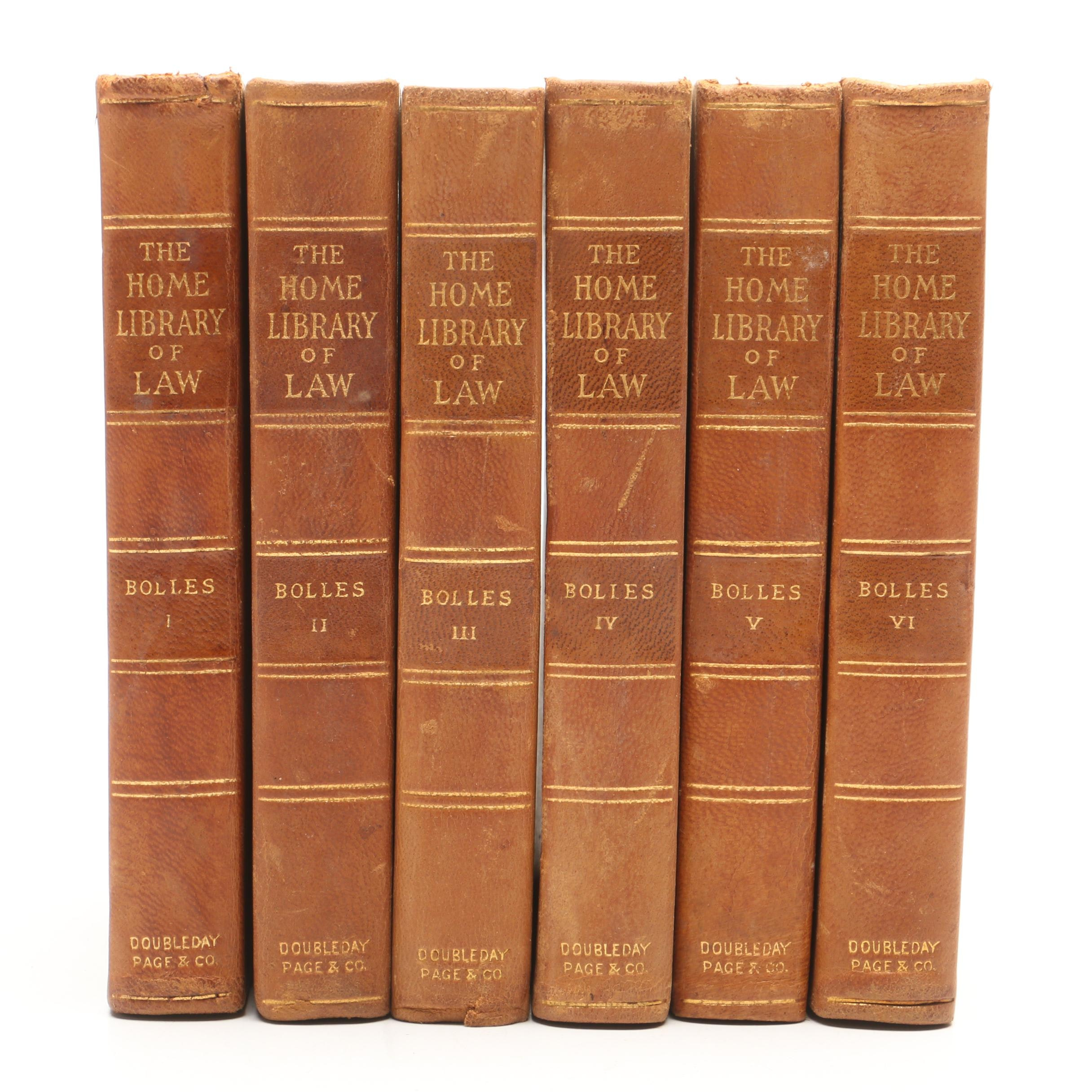 "1905 ""The Home Library of Law"" by Albert Bolles"