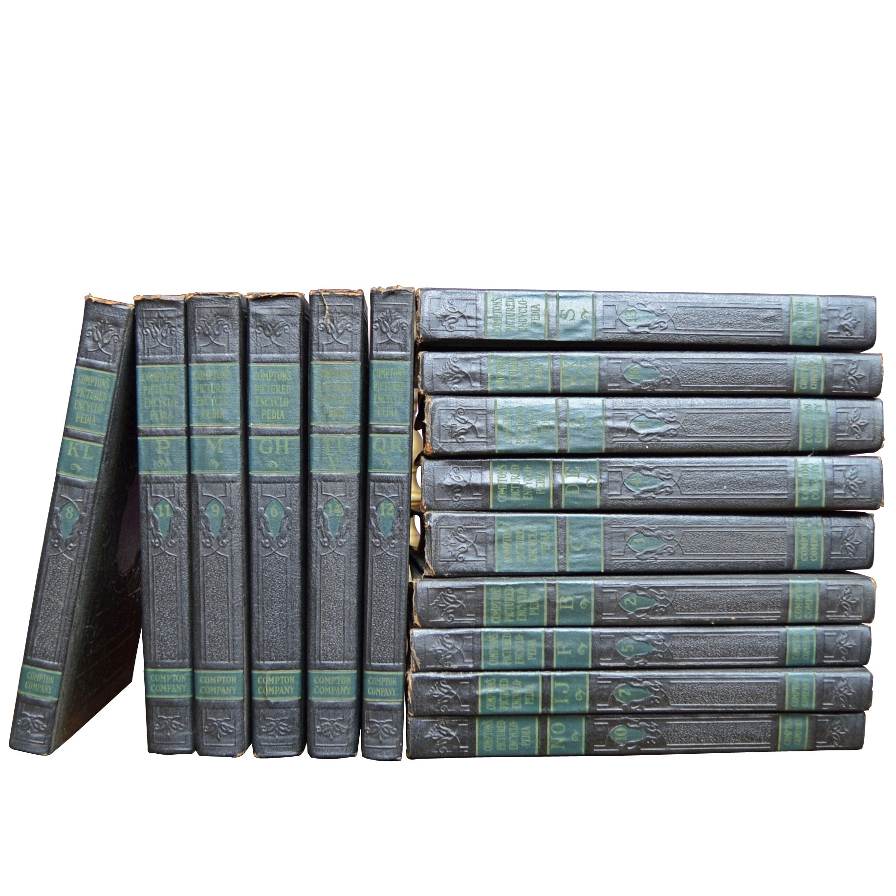 "1942 ""Compton Encyclopedia"" 15 Volumes"