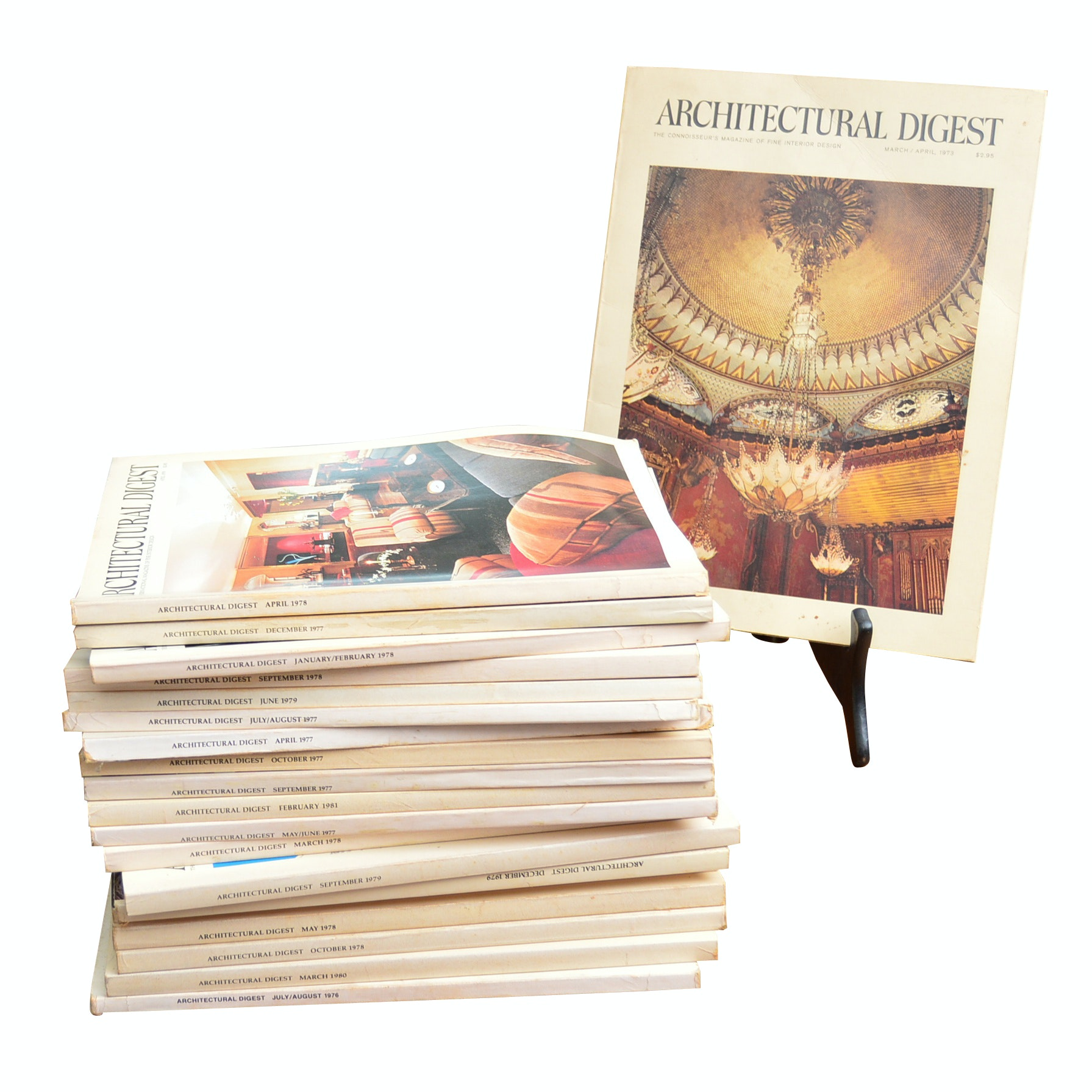"""1970s-80s """"Architectural Digest"""" Magazines"""