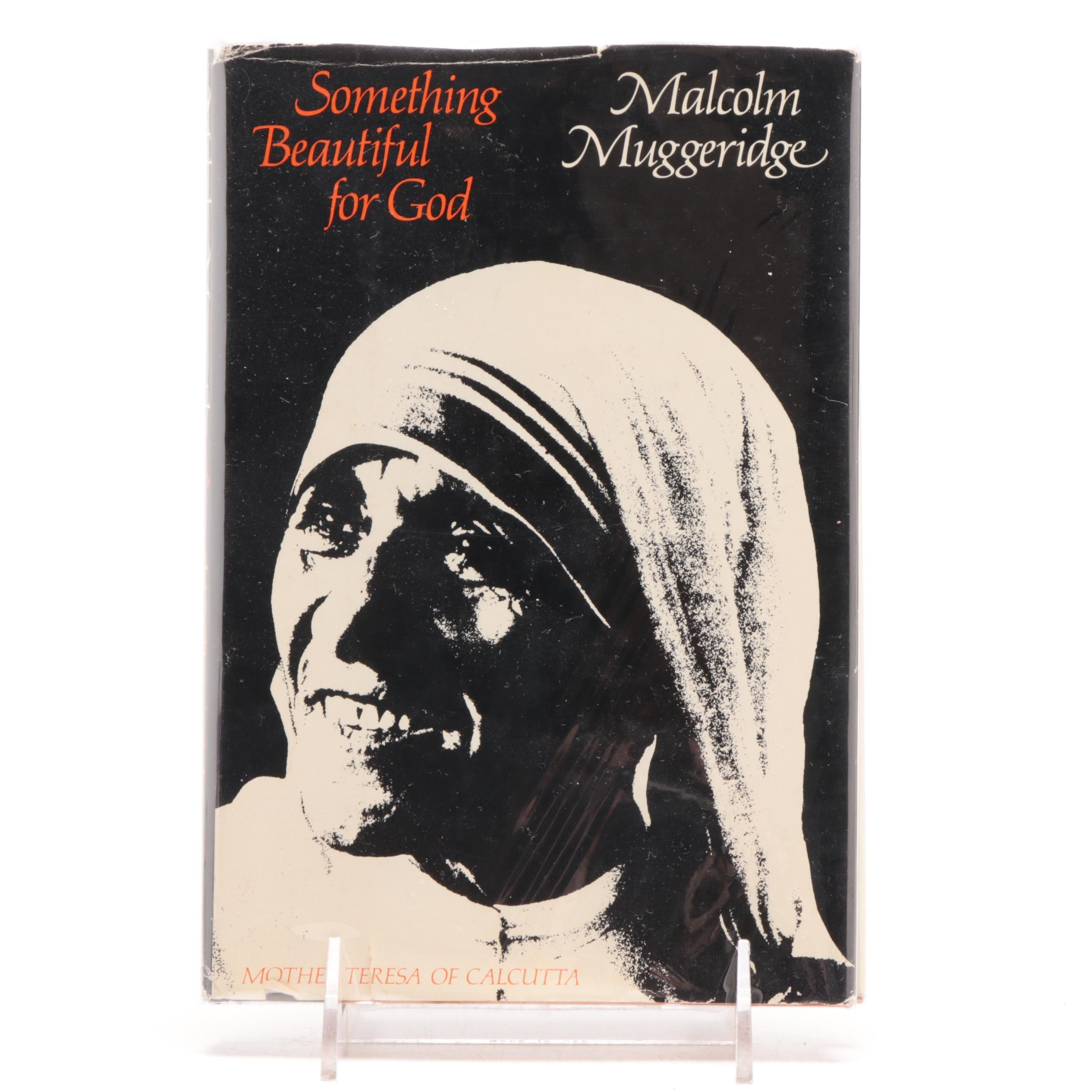 "Mother Teresa Signed ""Something Beautiful for God"""