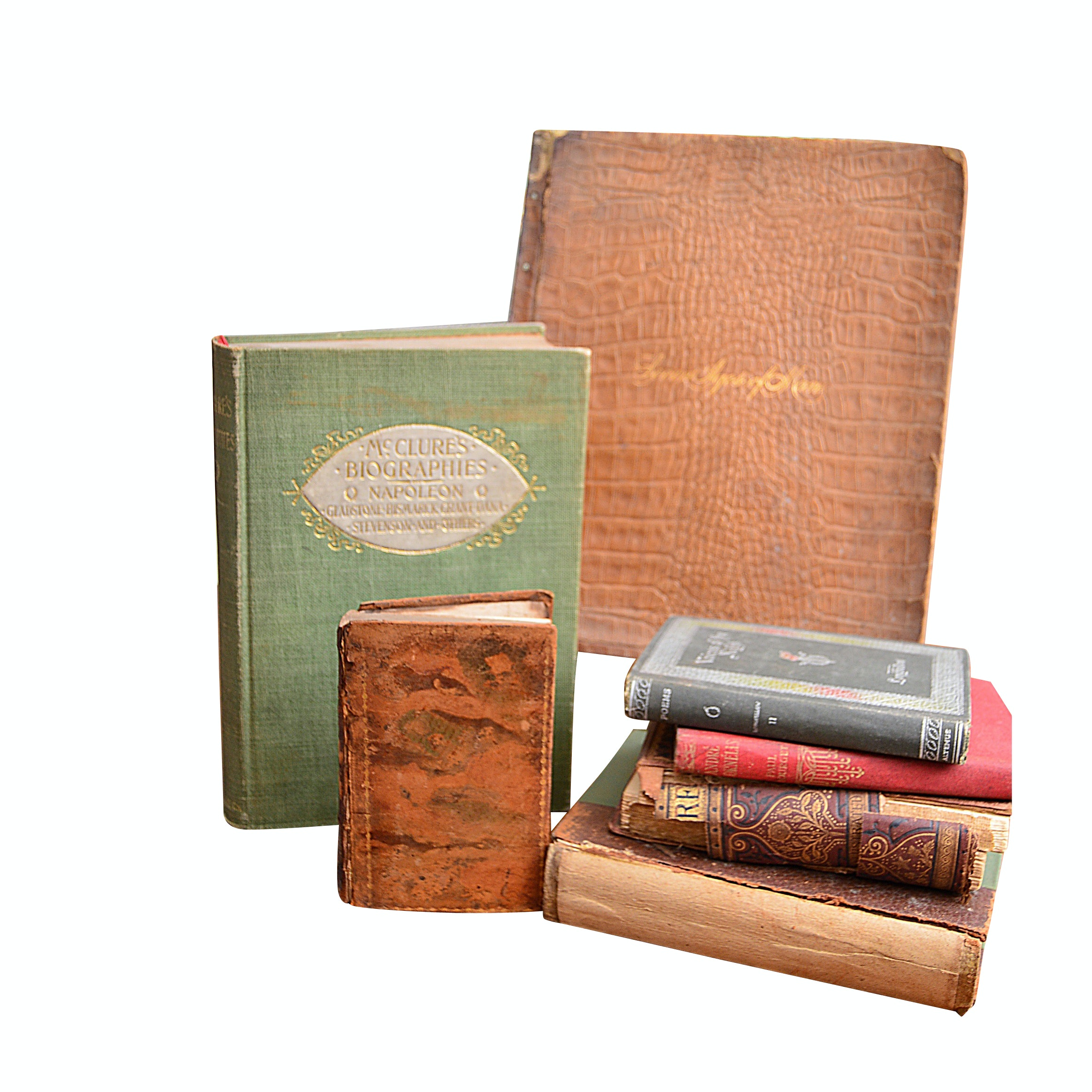 "19th Century Books with Longfellow, 1819 ""The Spectator"" and More"