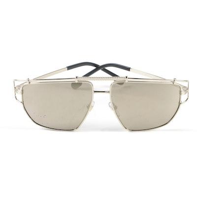 655344f778 Versace Mod. 2202 Aviator Style Sunglasses