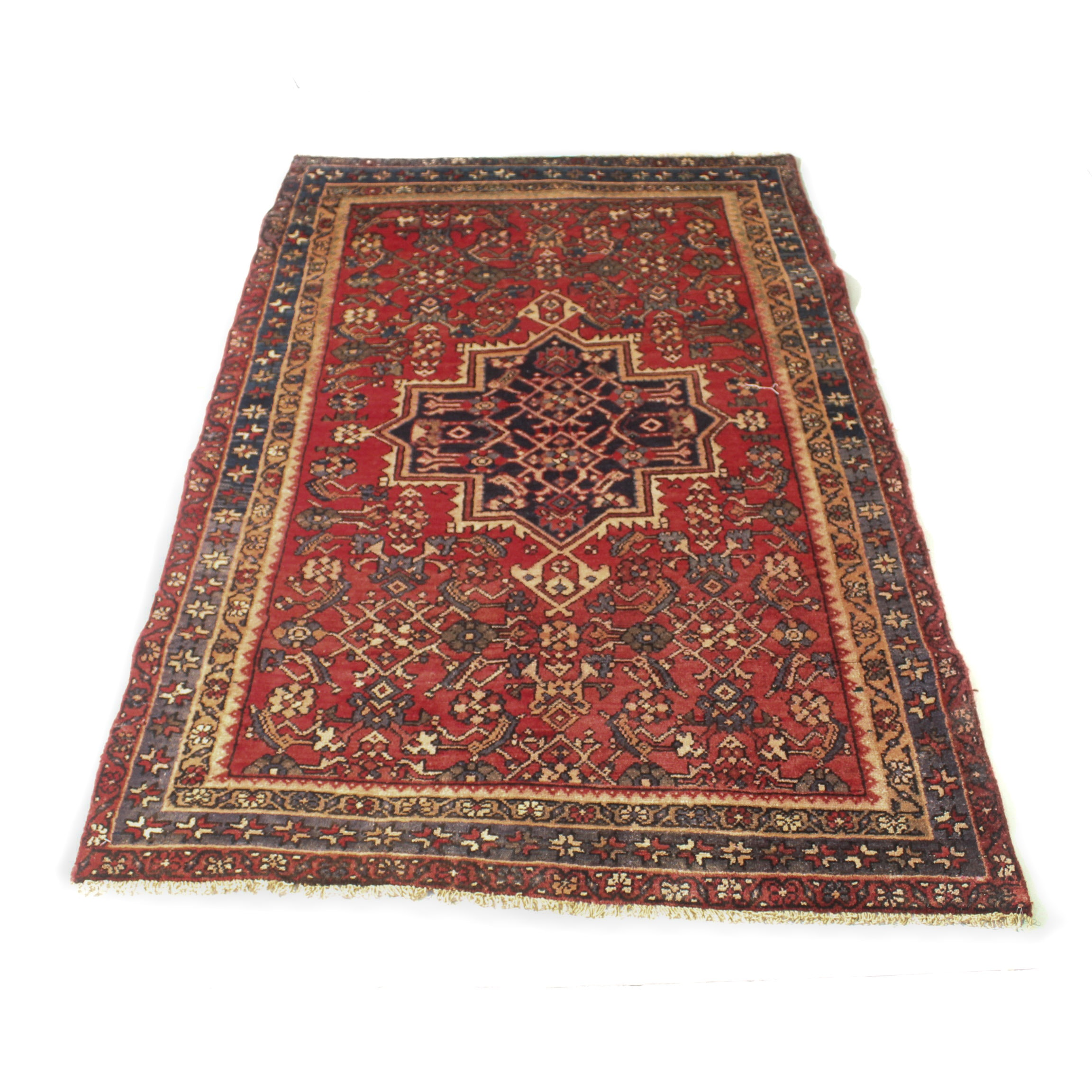 3'11 x 6'6 Hand-Knotted Northwest Persian Rug