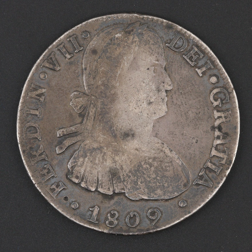 1780 8 reales coin