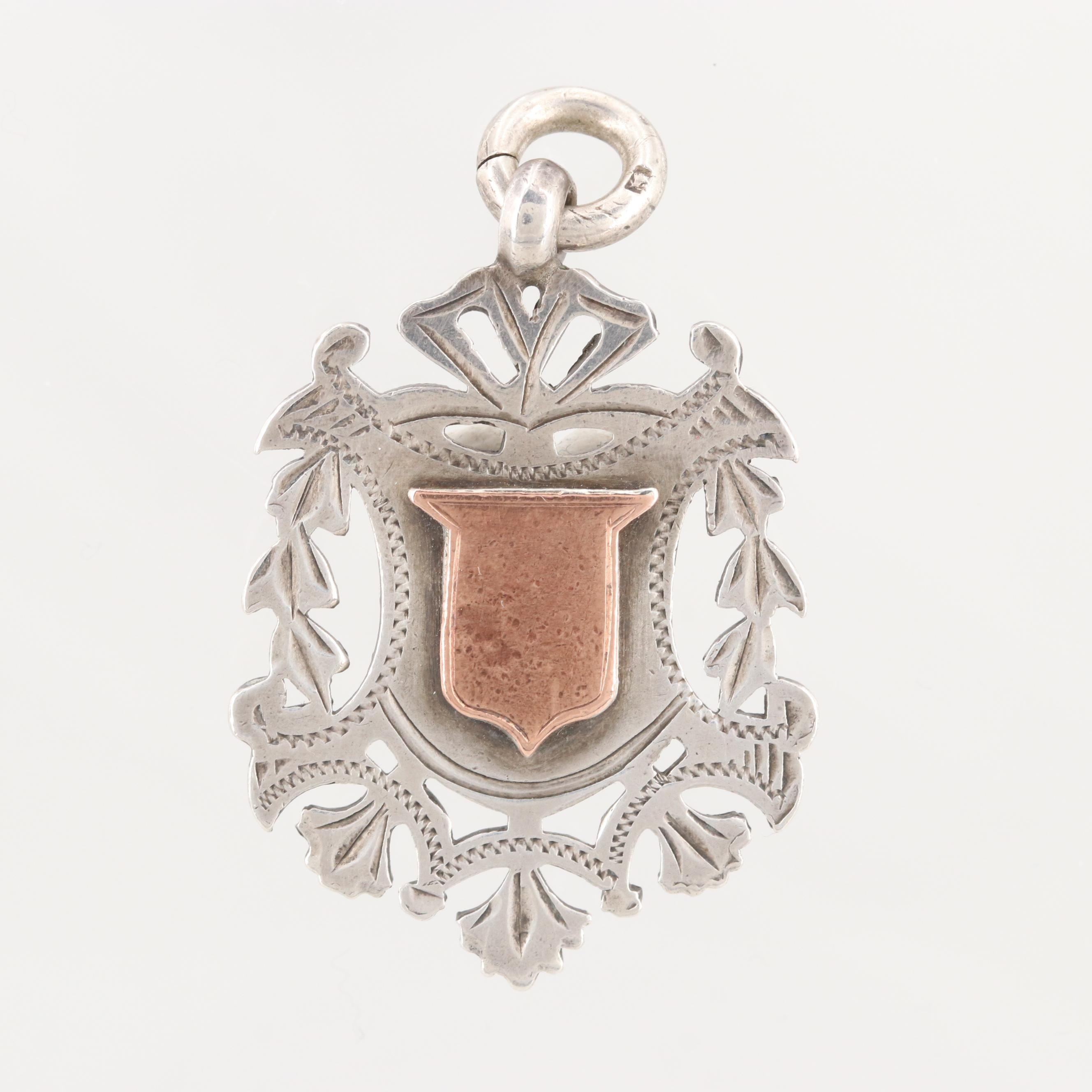 Circa 1900s Henry Pope Sterling Silver Charm
