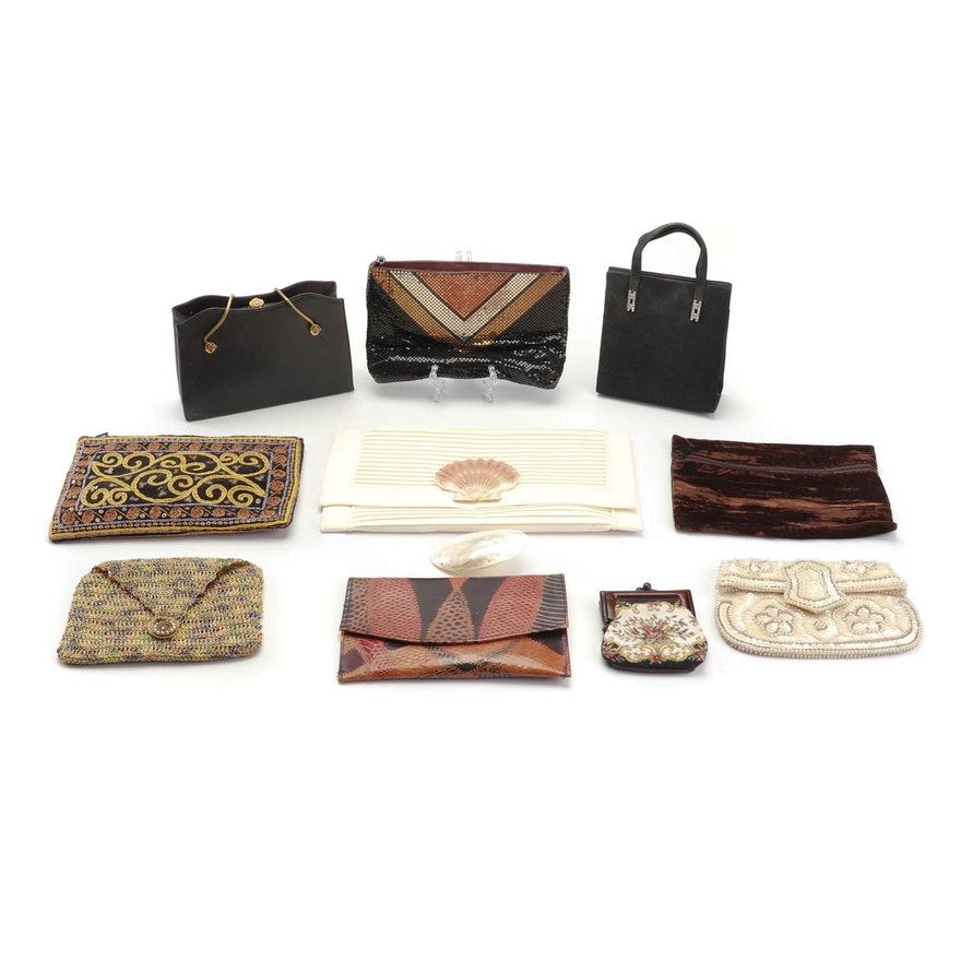 5670fb3f71cb Vintage and Contemporary Handbags Featuring Susan Farris and Whiting    Davis   EBTH