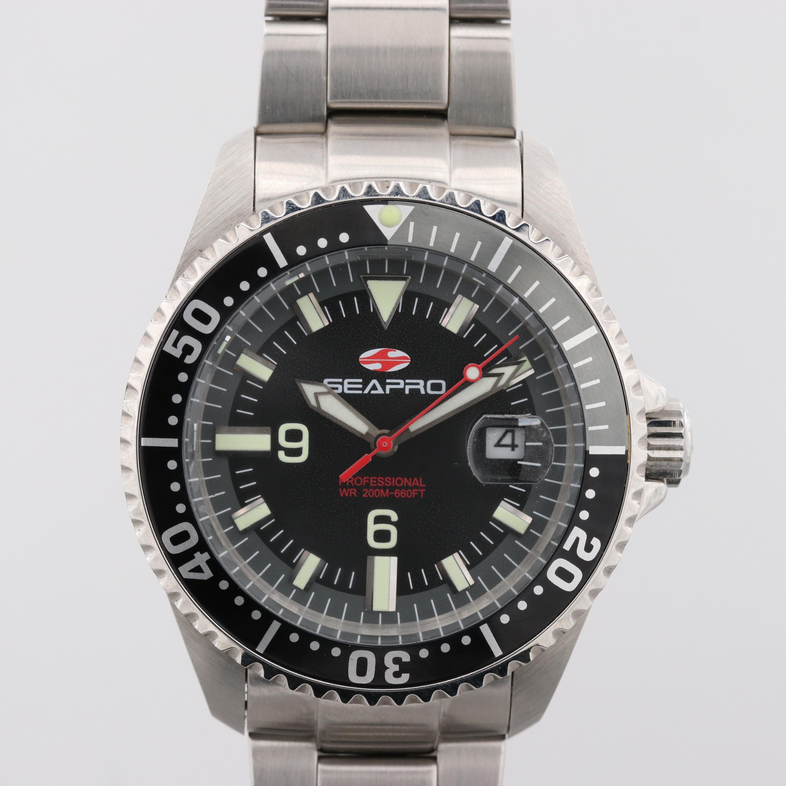 Seapro Scuba 200 Stainless Steel Automatic Wristwatch
