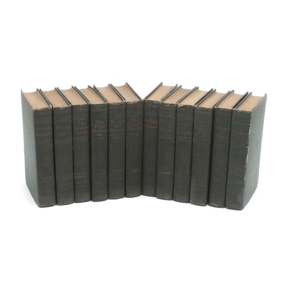 Works of O. Henry Twelve Volume Set