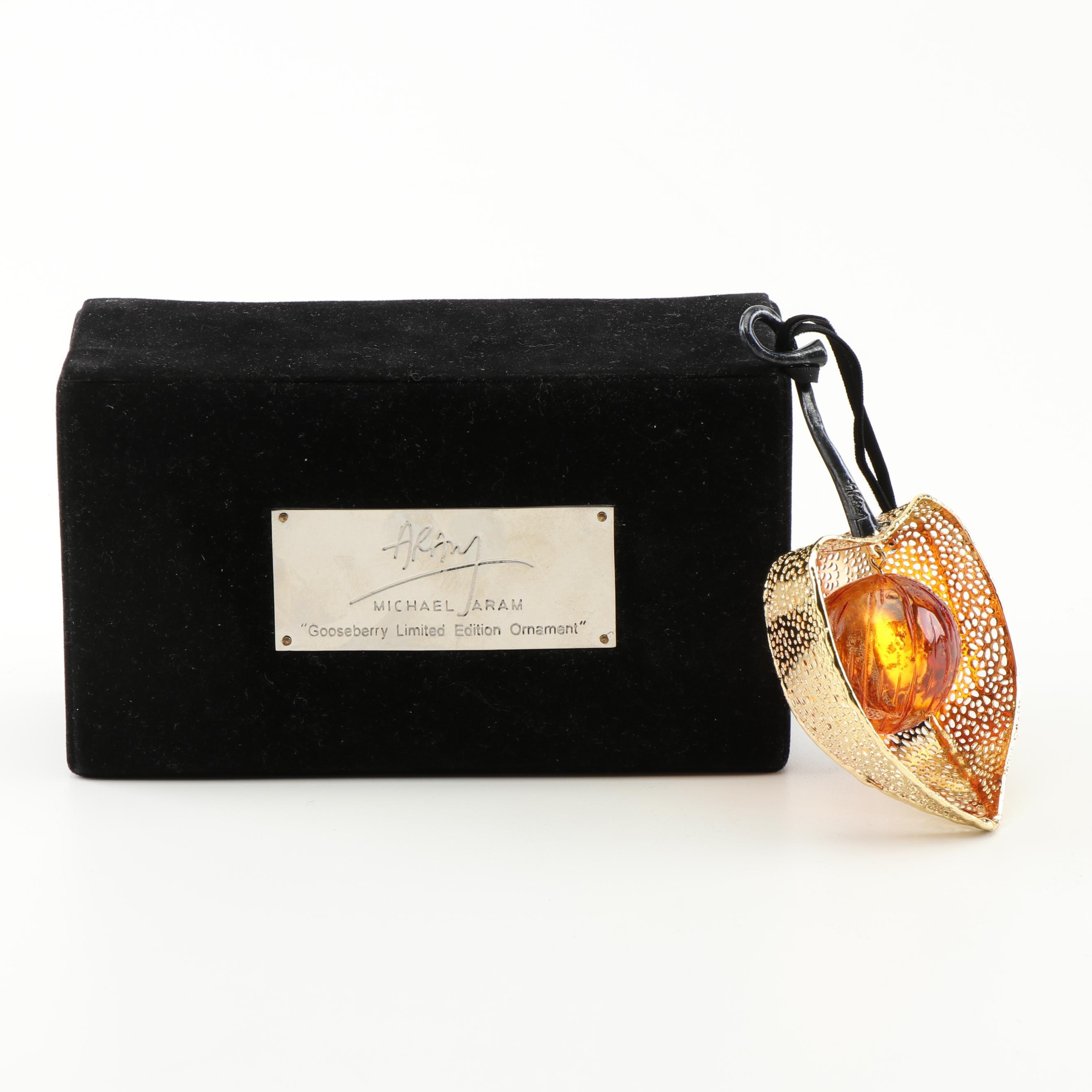 Michael Aram Gooseberry Limited Edition Ornament