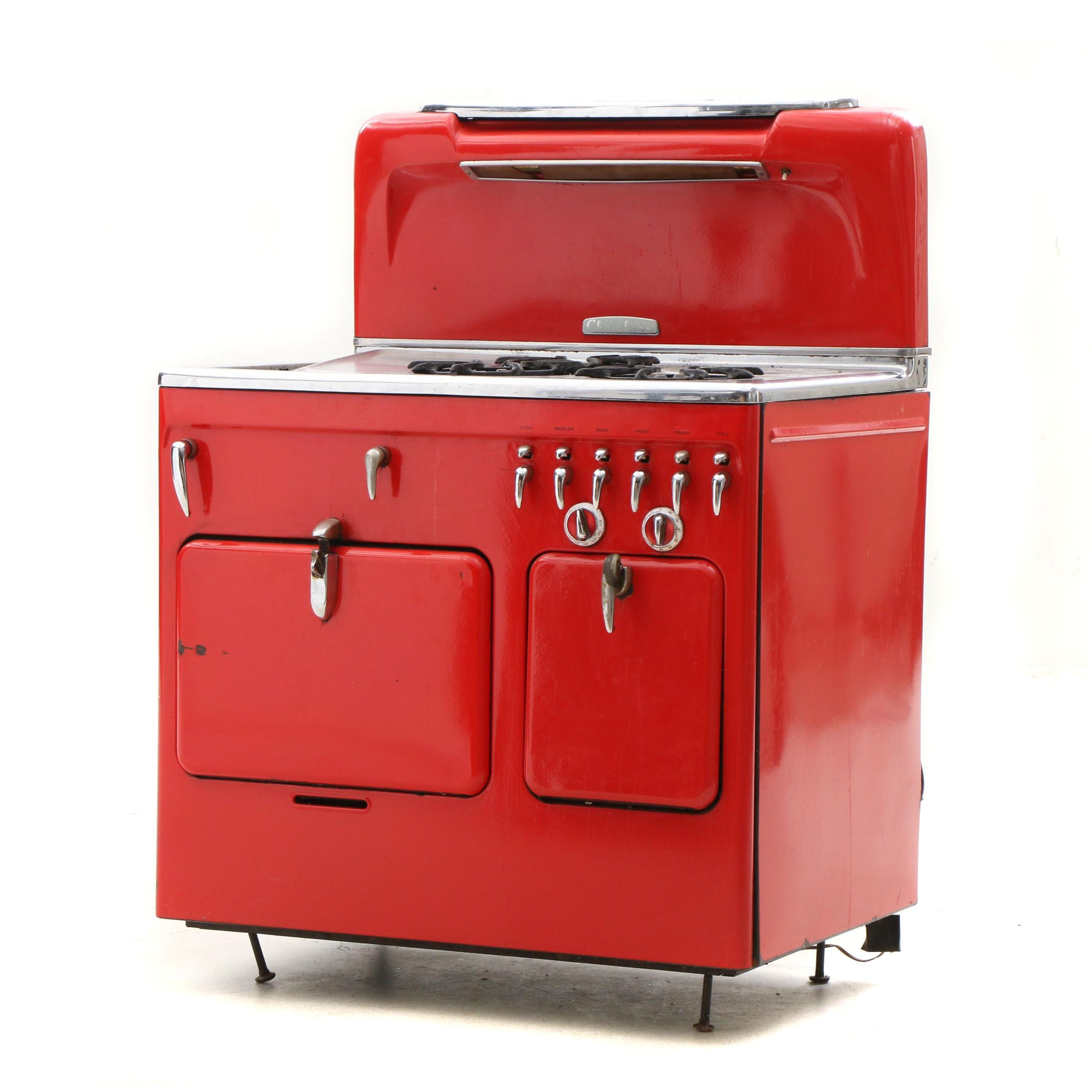 """Chambers Model """"C"""" Gas Oven and Range, Mid 20th Century"""