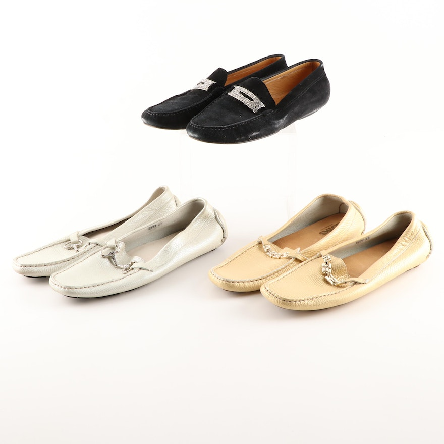 b9845c3138a Women s Praerie and Joyks Suede and Leather Loafers ...