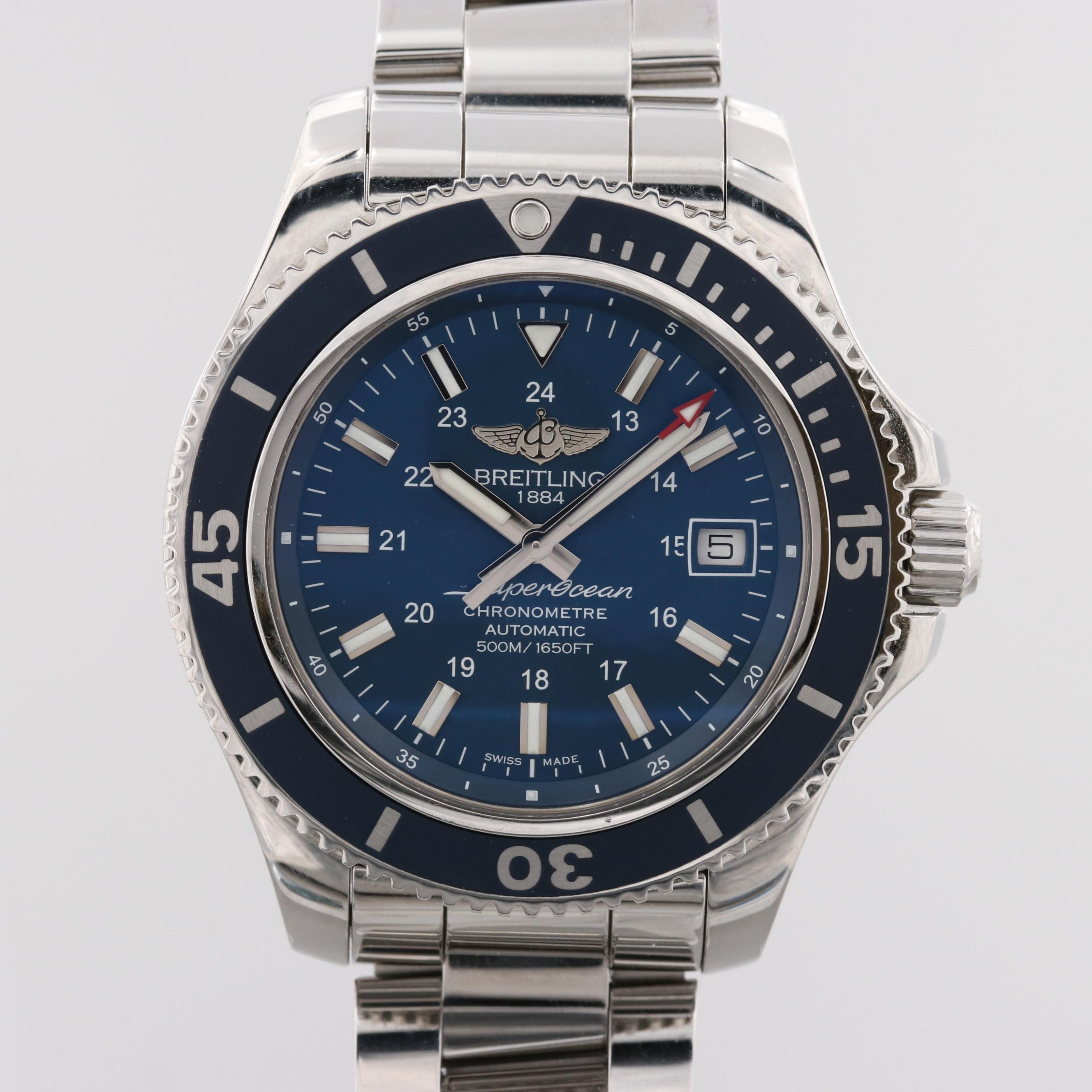 Breitling Superocean II 42 Stainless Steel Automatic Wristwatch