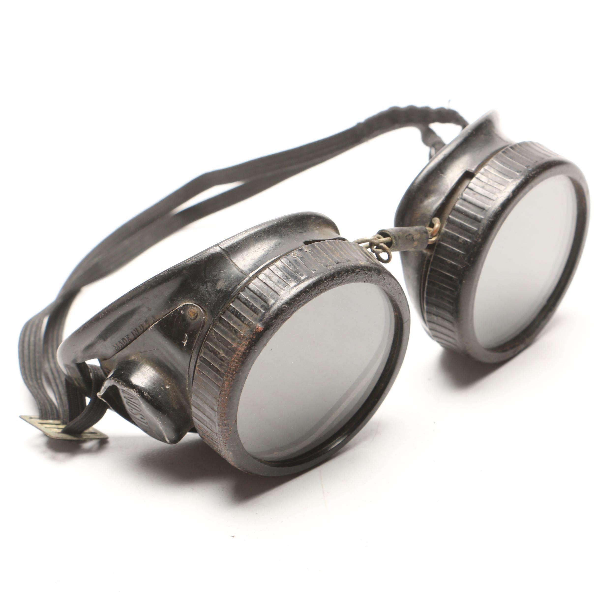 Industrial Dark Green Lens Willson Googles