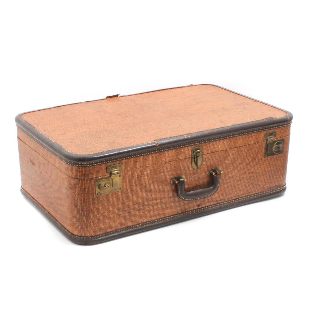 Suitcase, 1940s Vintage
