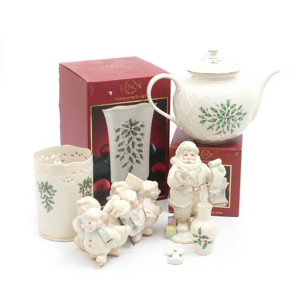 Lenox Christmas Ceramic Table Decor