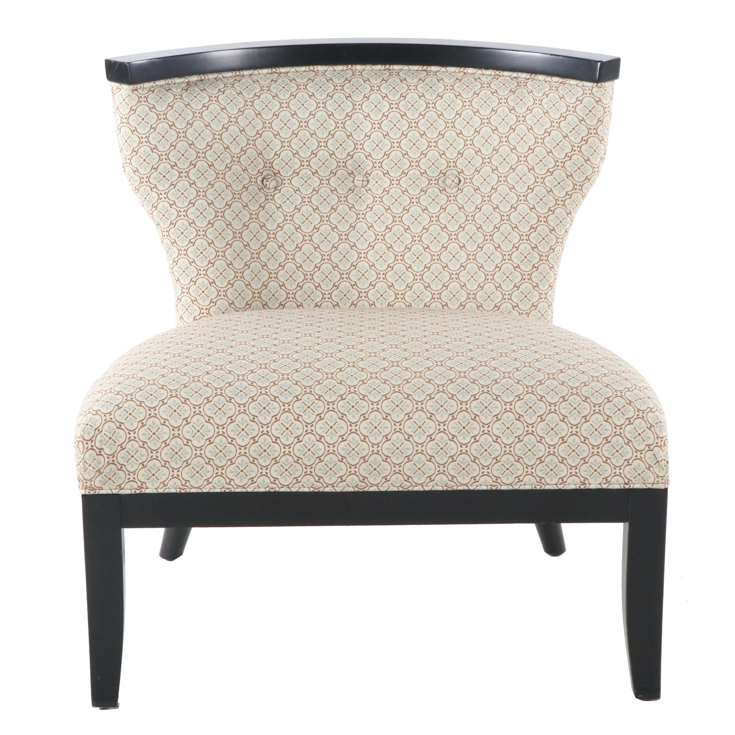 Contemporary Upholstered Occasional Chair, 21st Century