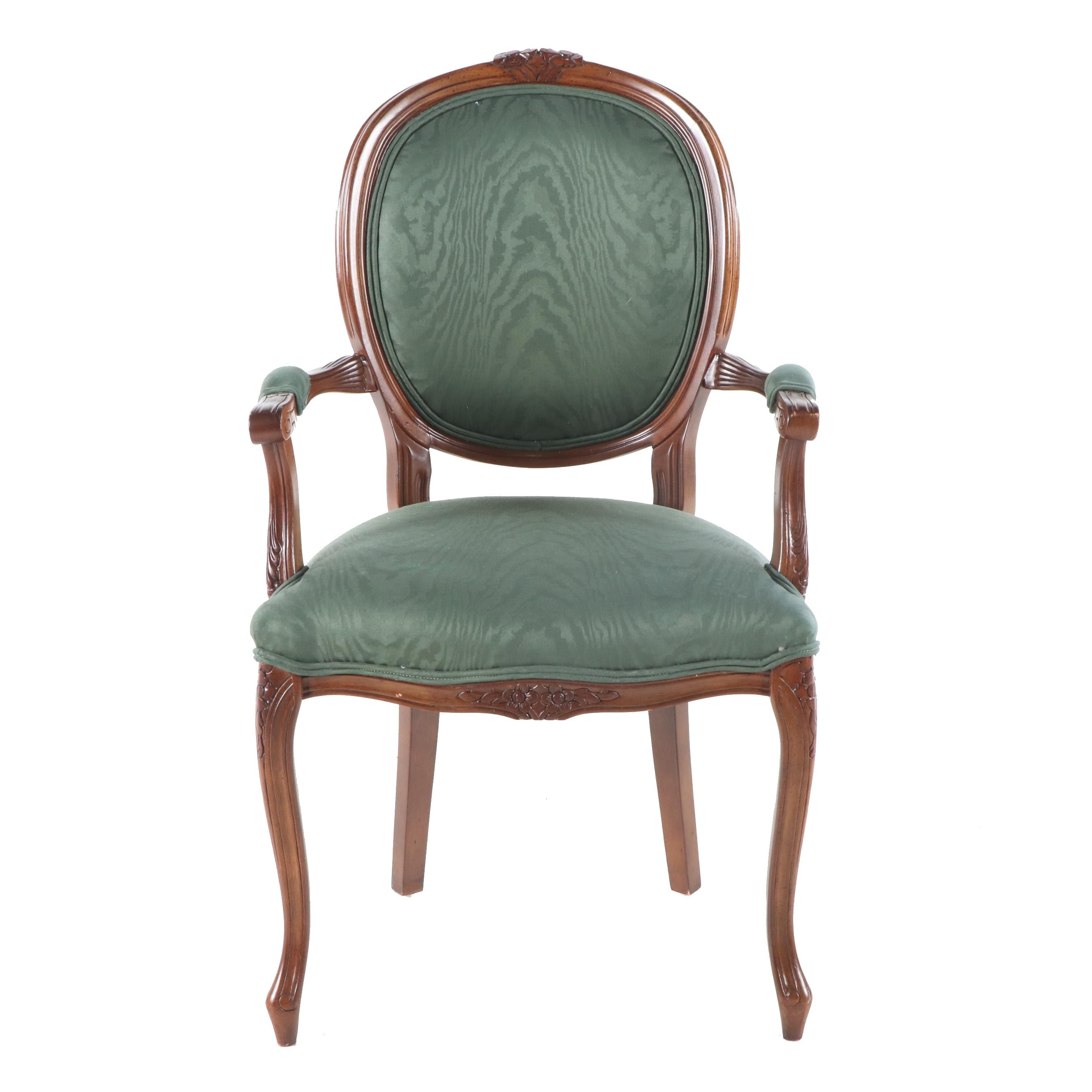 Louis XV Upholstered Armchair, 20th Century