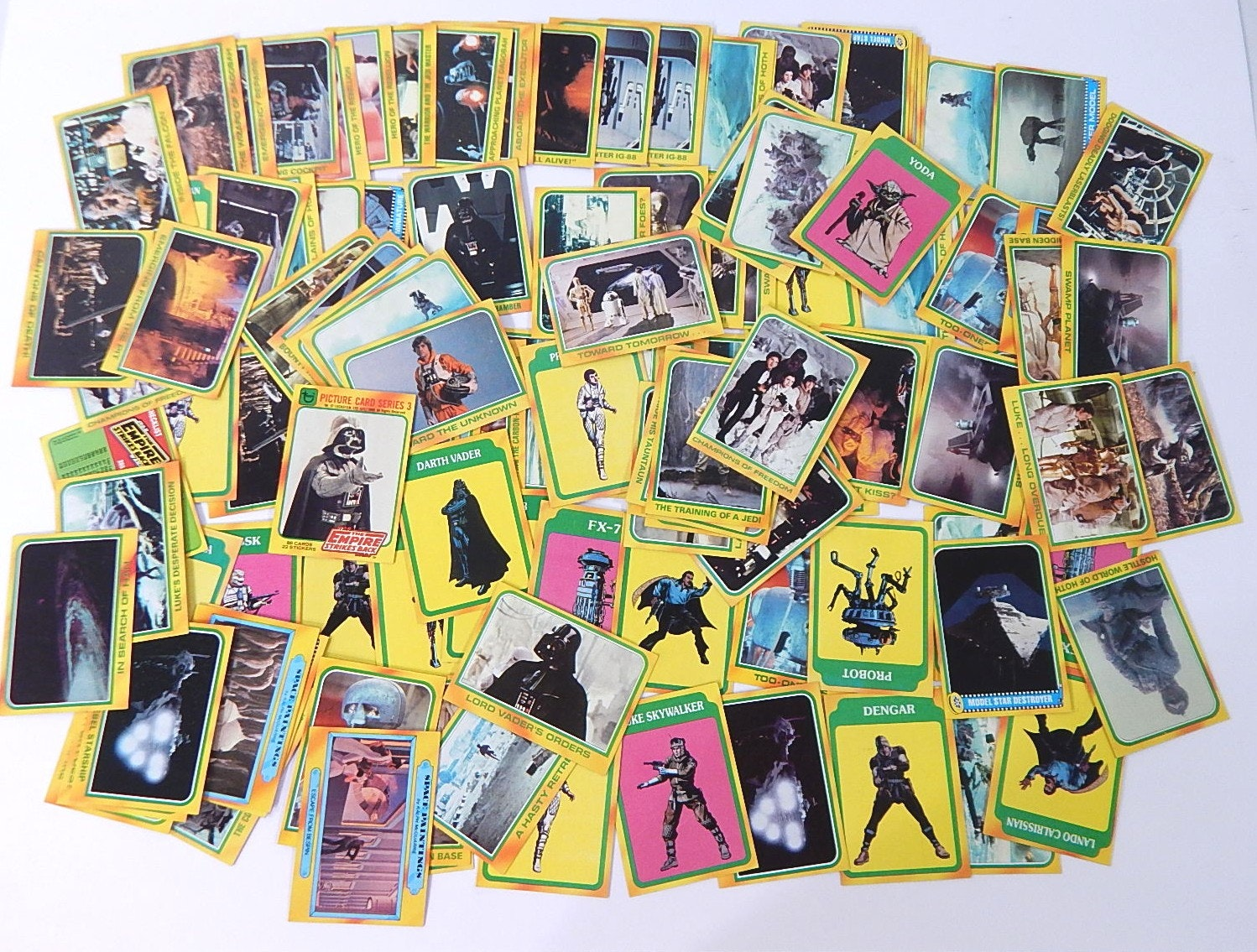 """1980 """"Star Wars: The Empire Strikes Back"""" Topps Trading Cards"""