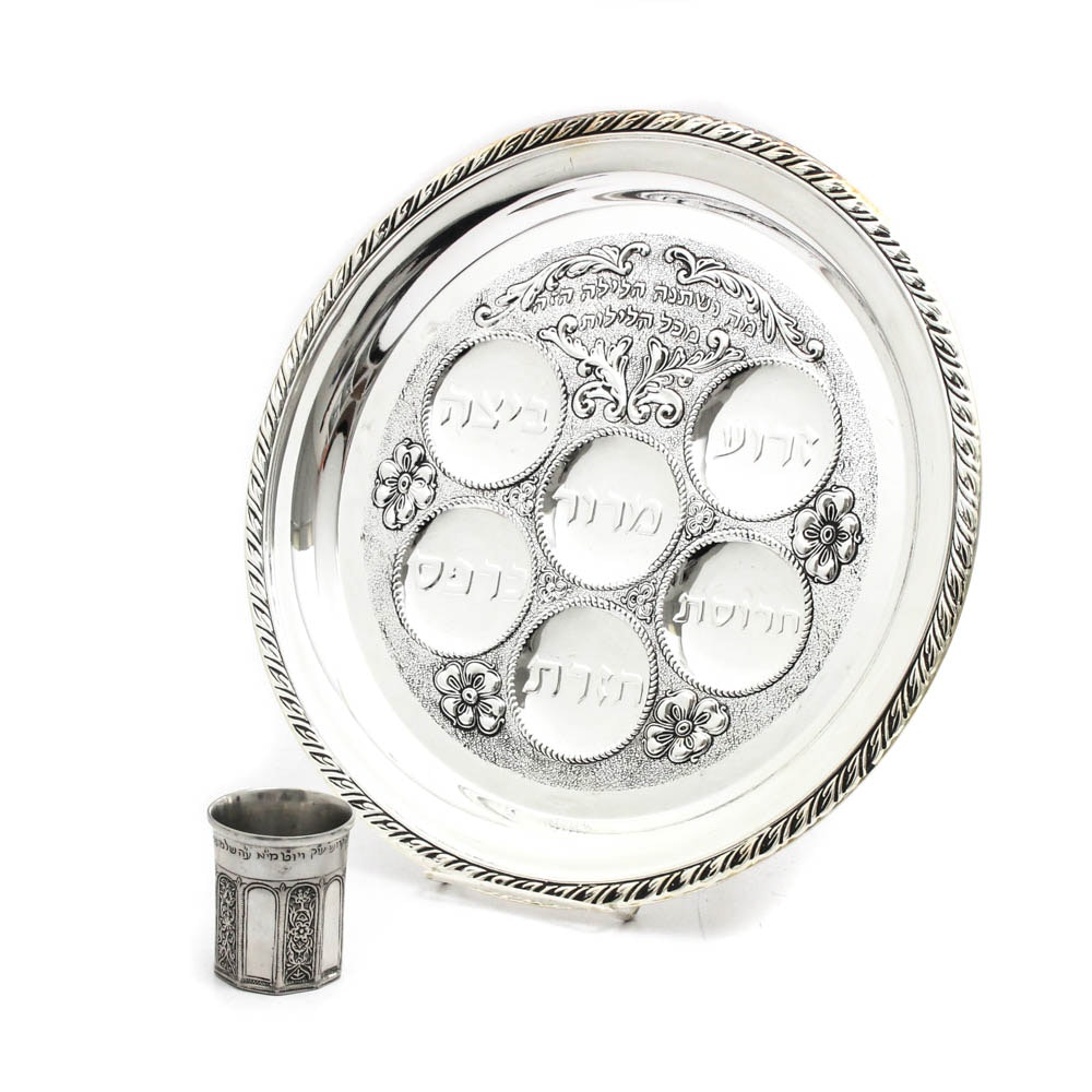 Seder Tray with MMA Cup