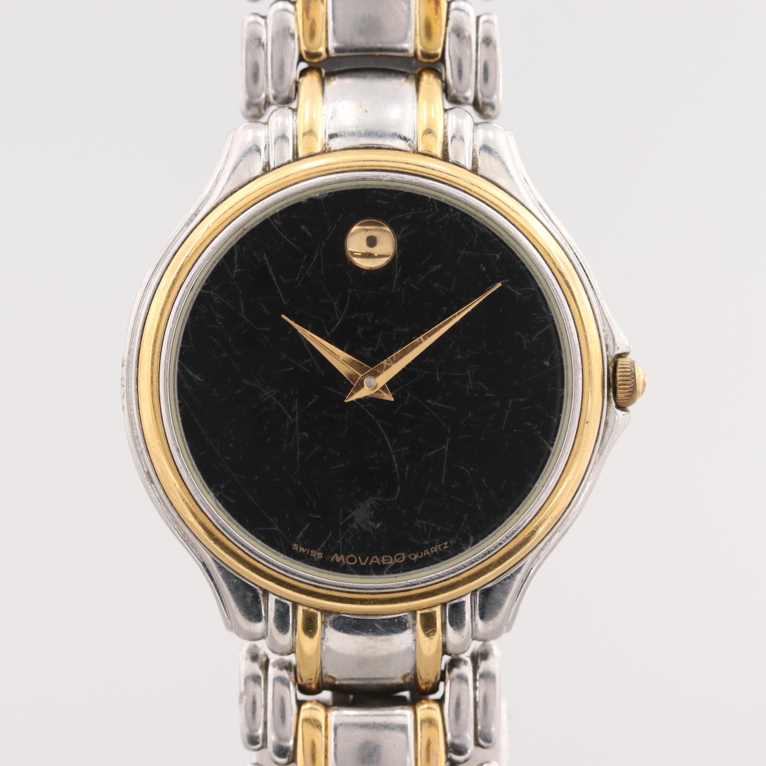 """Movado """"Museum Piece"""" Stainless Steel Wristwatch"""