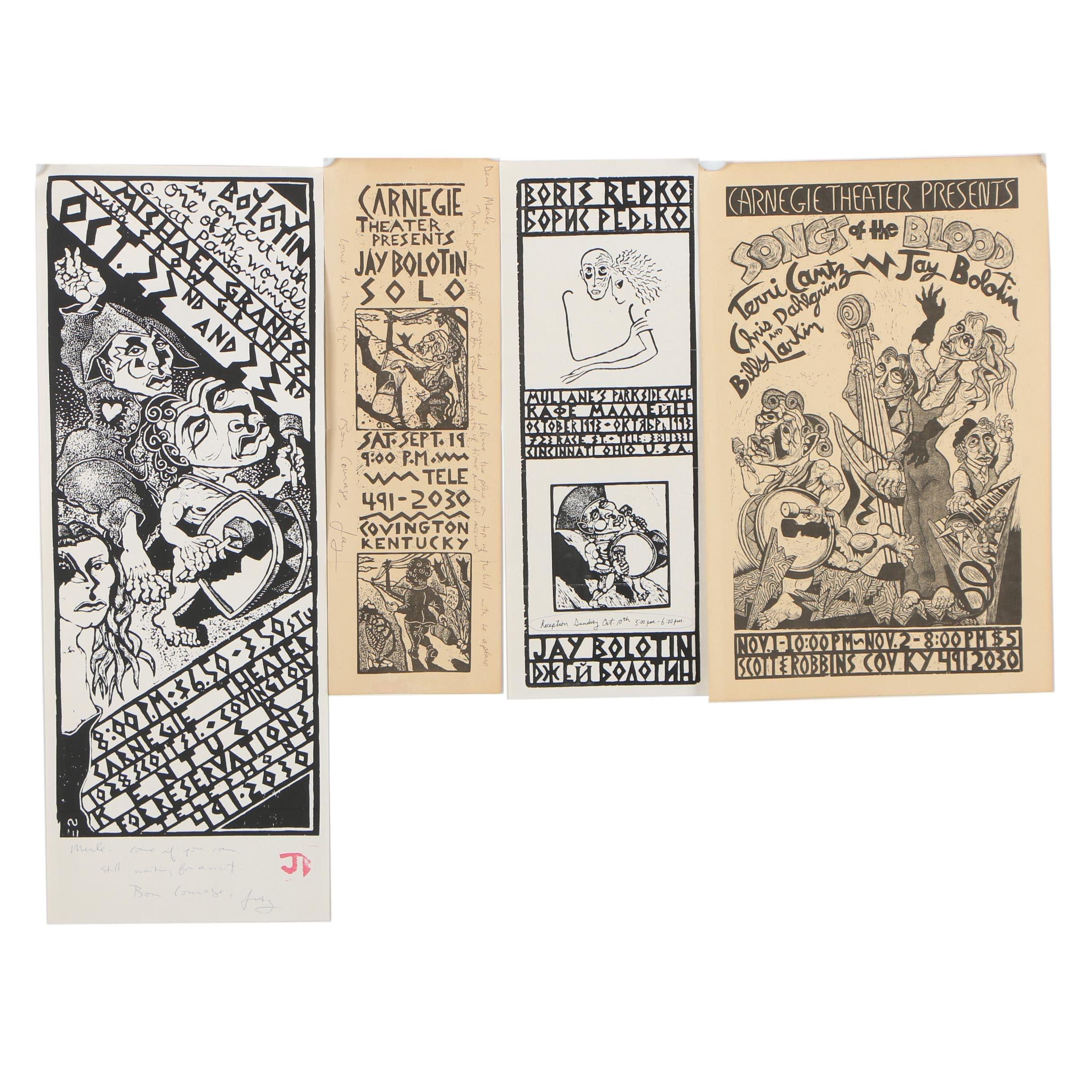 Jay Bolotin Woodcut Prints