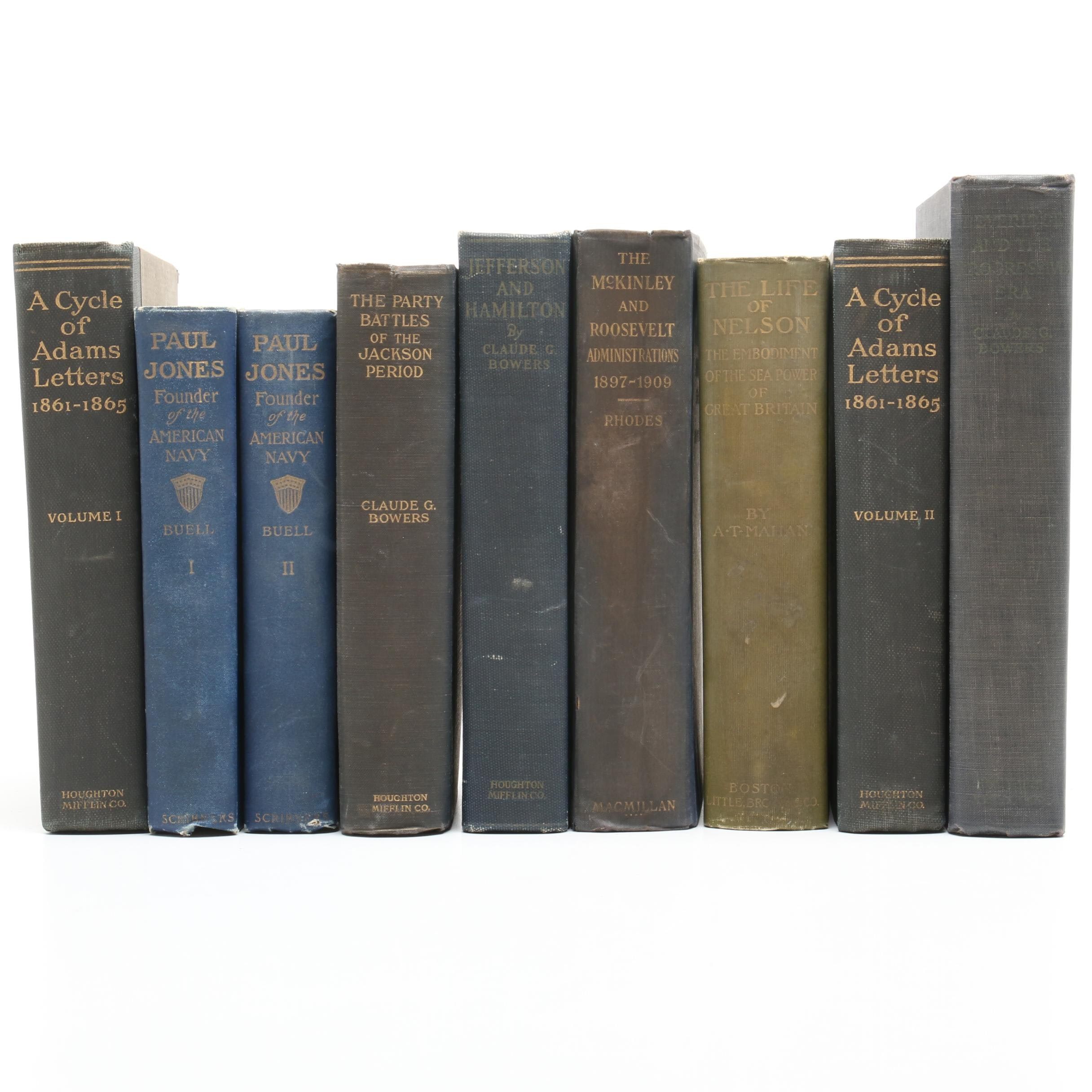 Antique and Vintage Presidential, Founding Fathers and Other Nonfiction Books