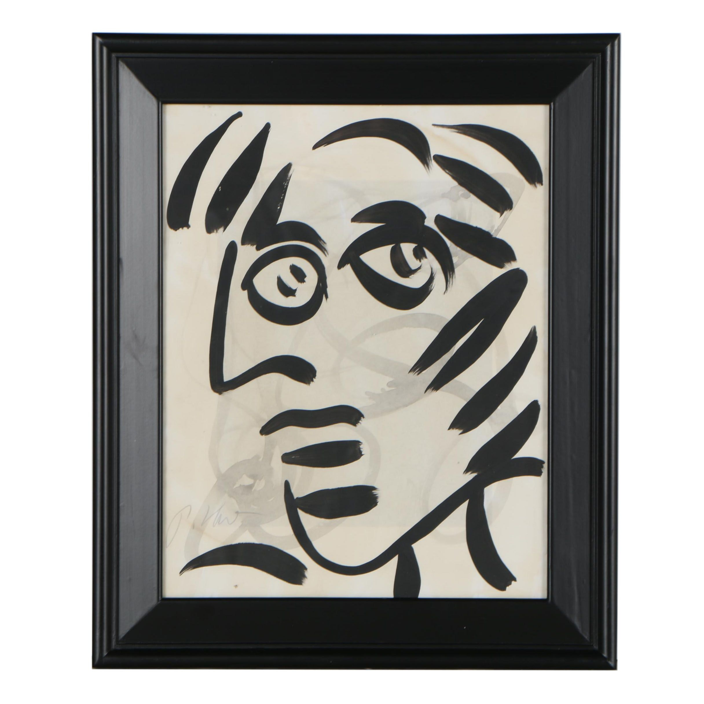 Peter Robert Keil Abstract Acrylic Painting