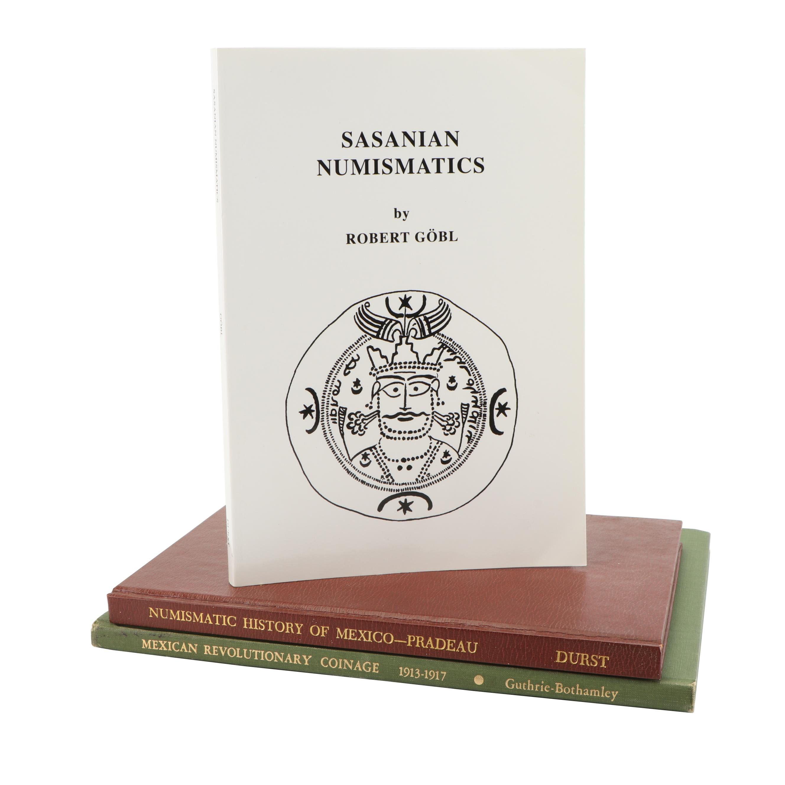 """Sasanian Numismatics"" and Books on Mexican Numismatics"