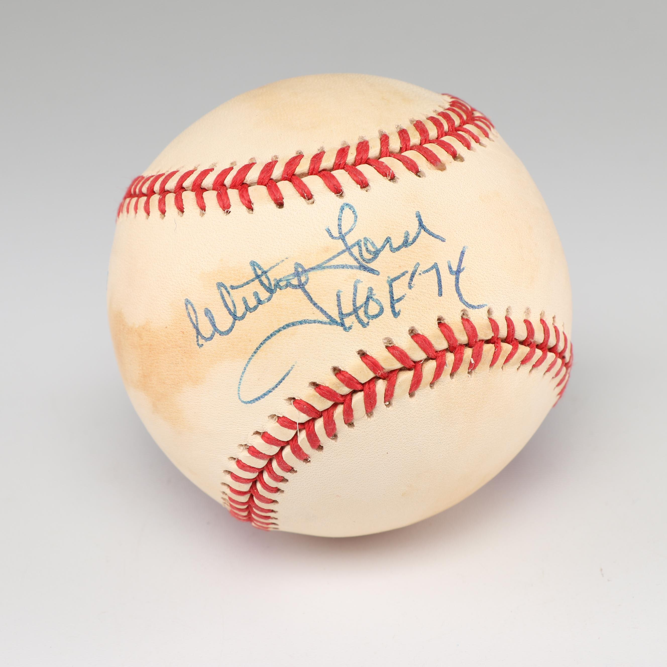Whitey Ford Autographed Baseball