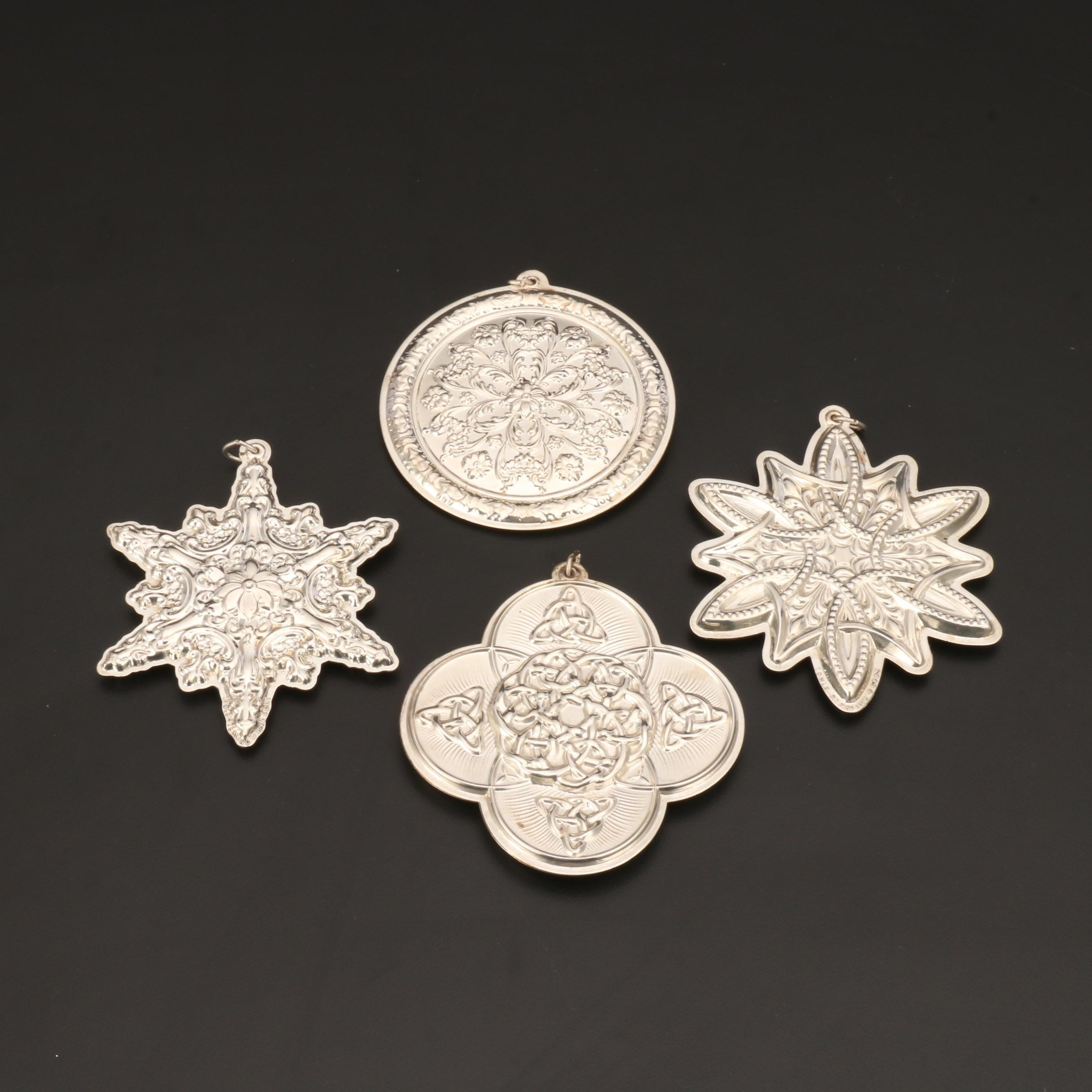 Towle Sterling Silver Ornaments