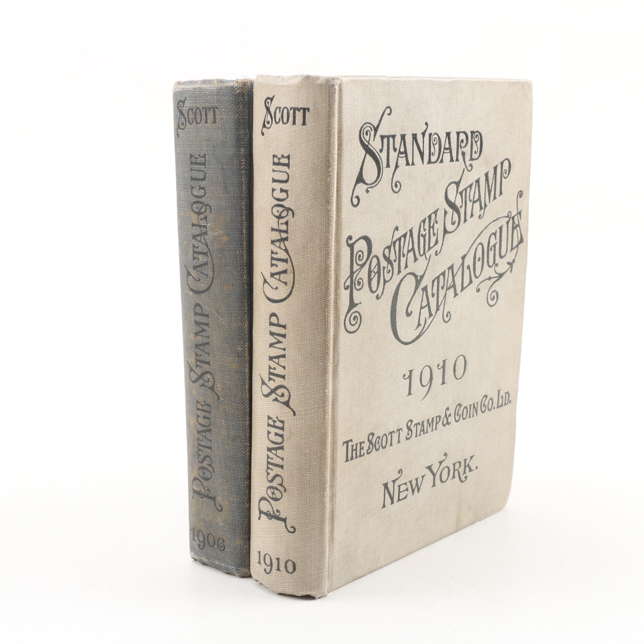 "Antique ""Scott's Standard Postage Stamp Catalogues"""
