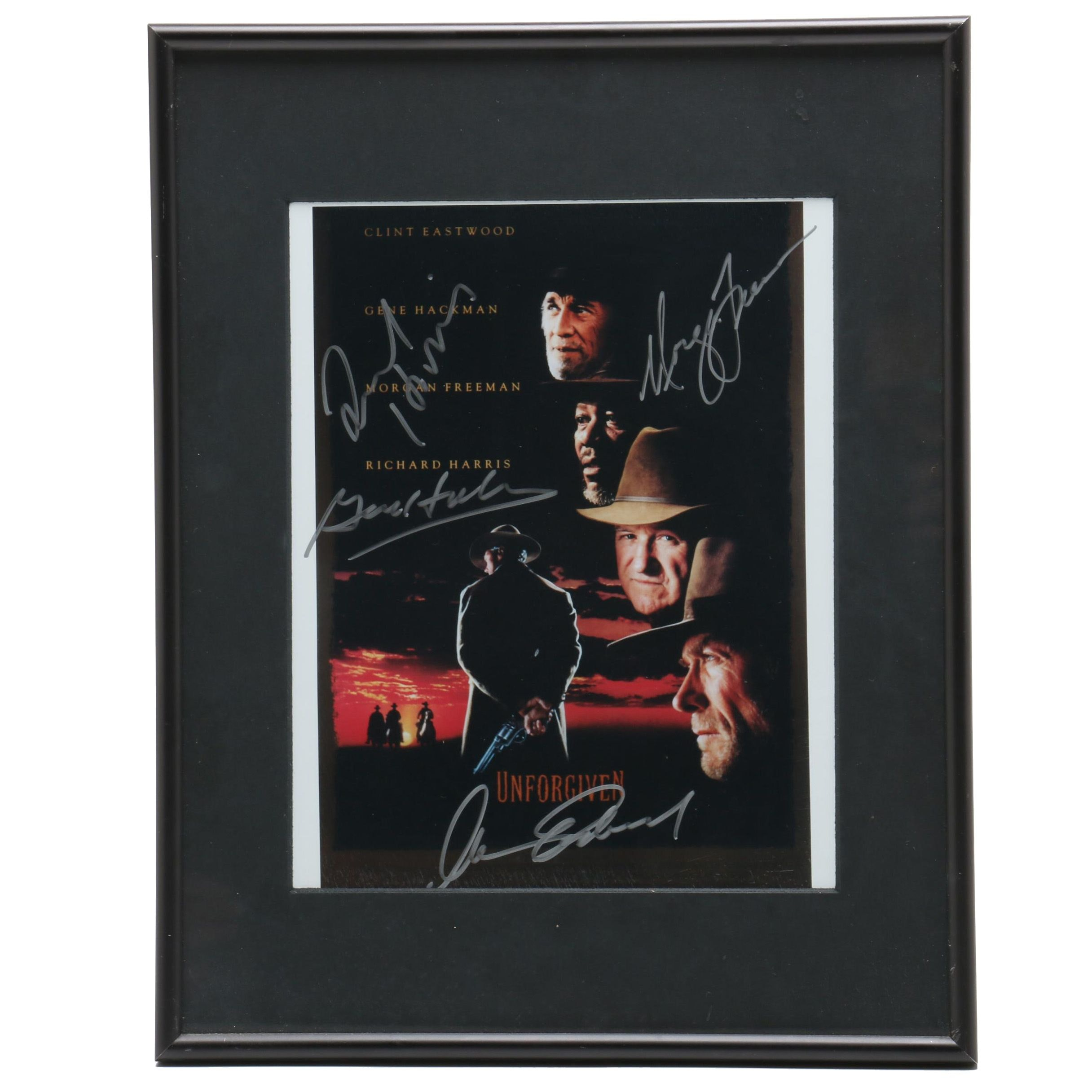 """Unforgiven"" Cast Signed Framed Photo Print"
