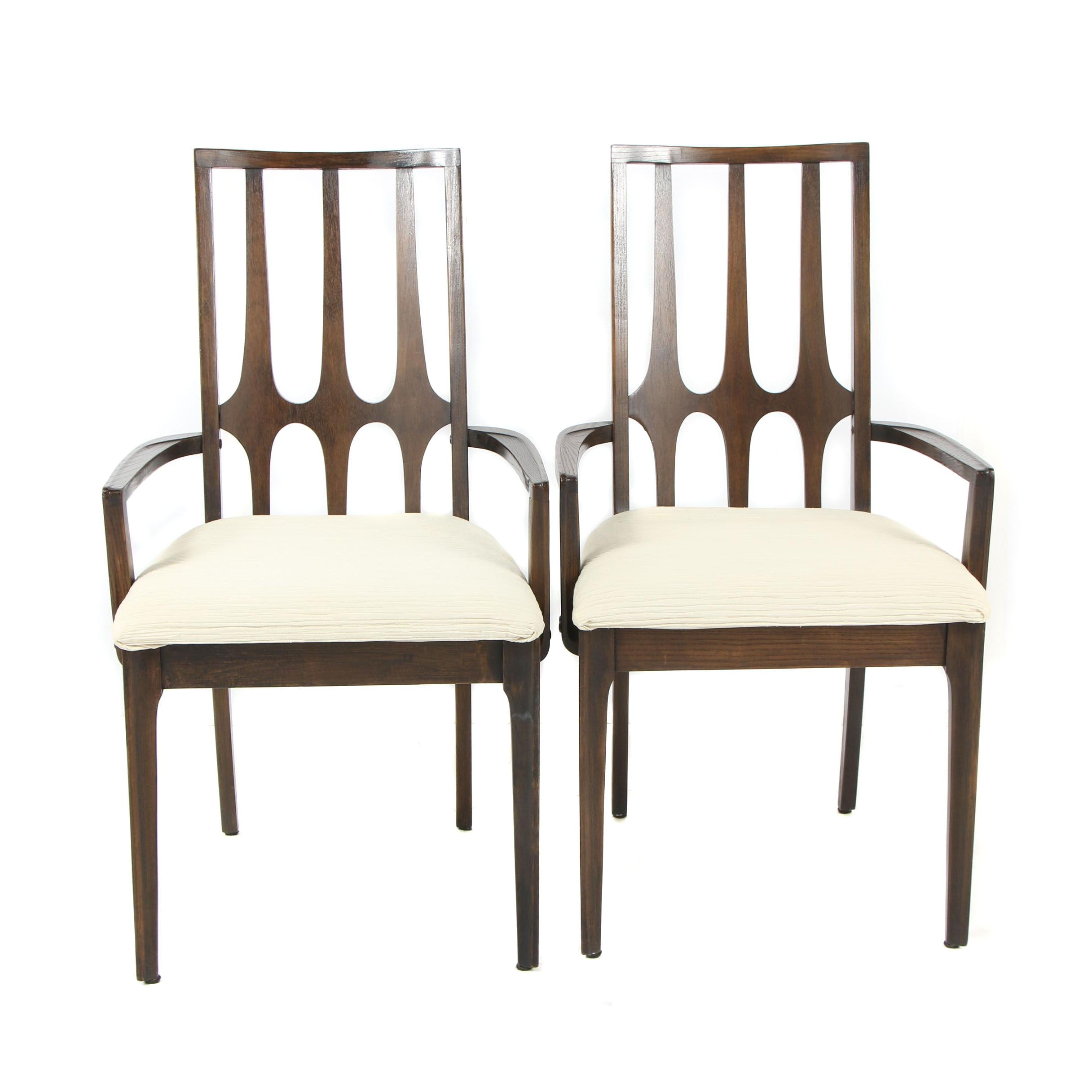Pair of Mid-Century Modern Dining Armchairs