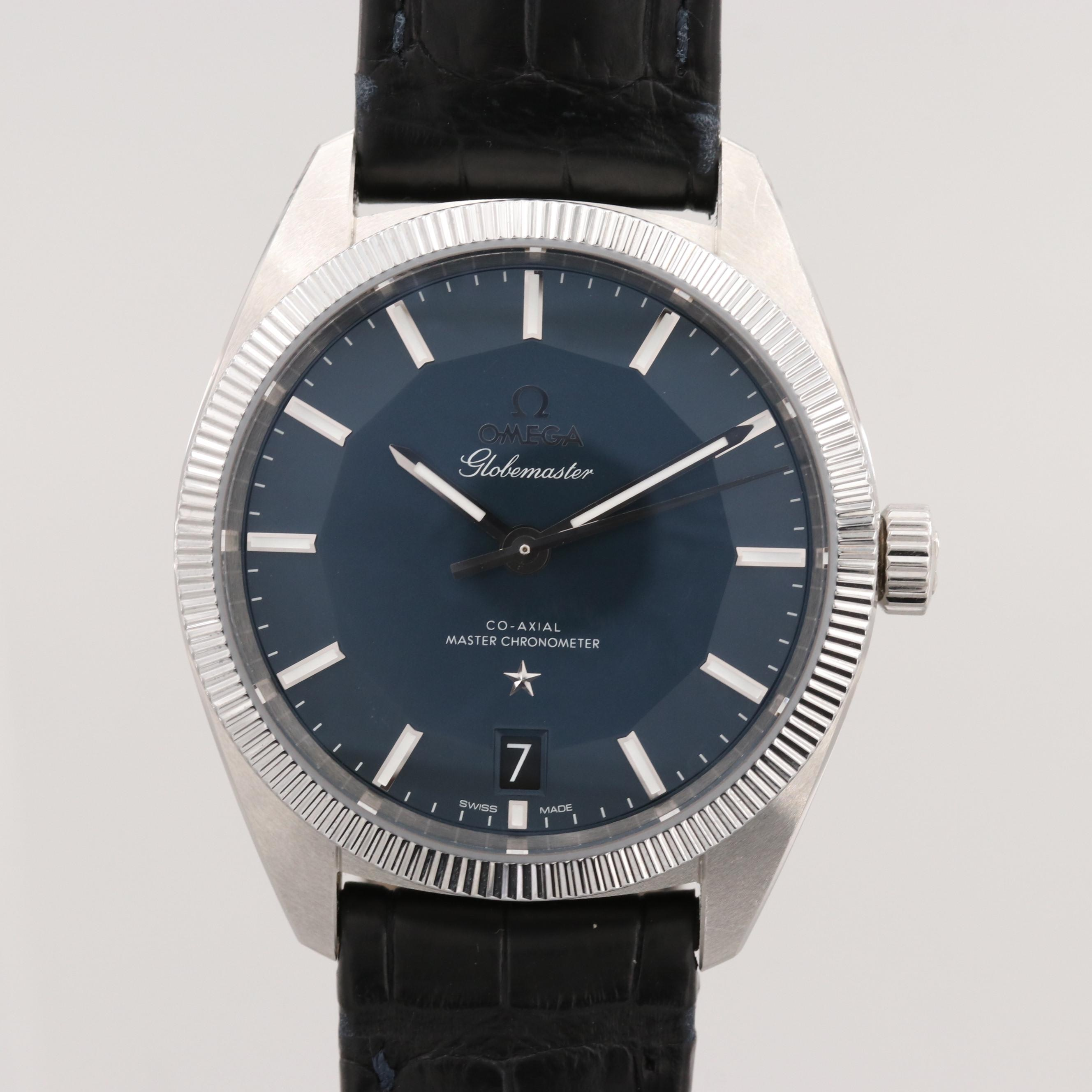 Omega Constellation Globemaster Stainless Steel Automatic Wristwatch