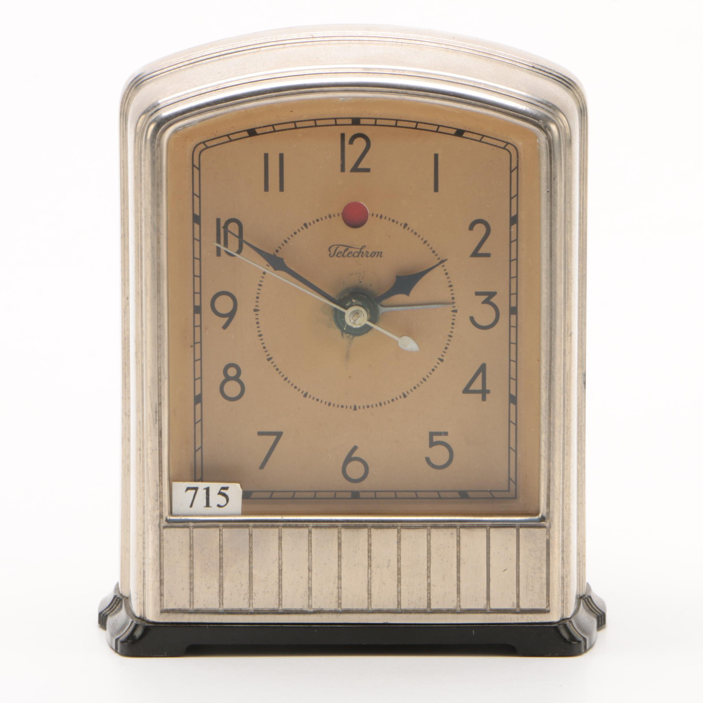 Telechron Electric Clock Model 715, Early 20th Century