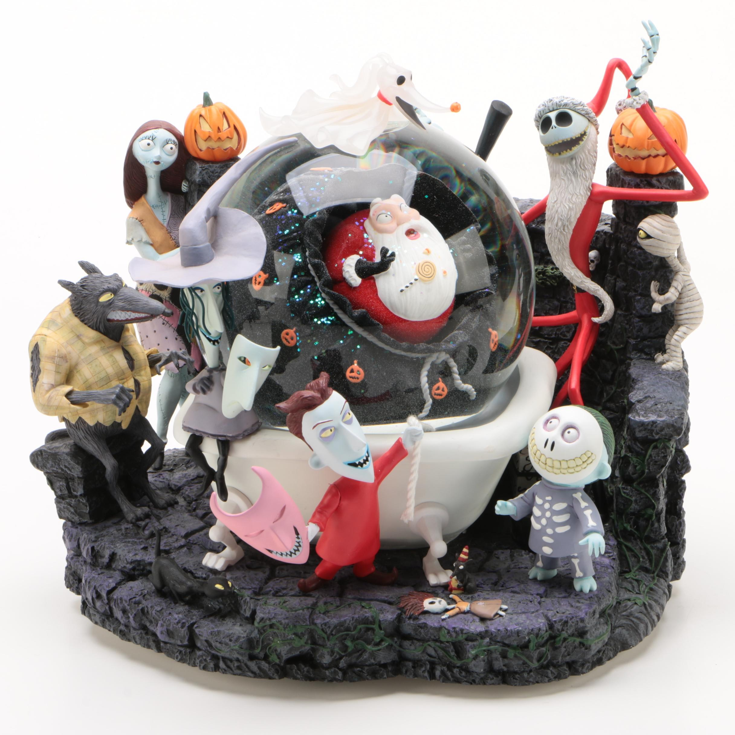 "Disney Tim Burton's ""Nightmare Before Christmas"" Snow Globe"
