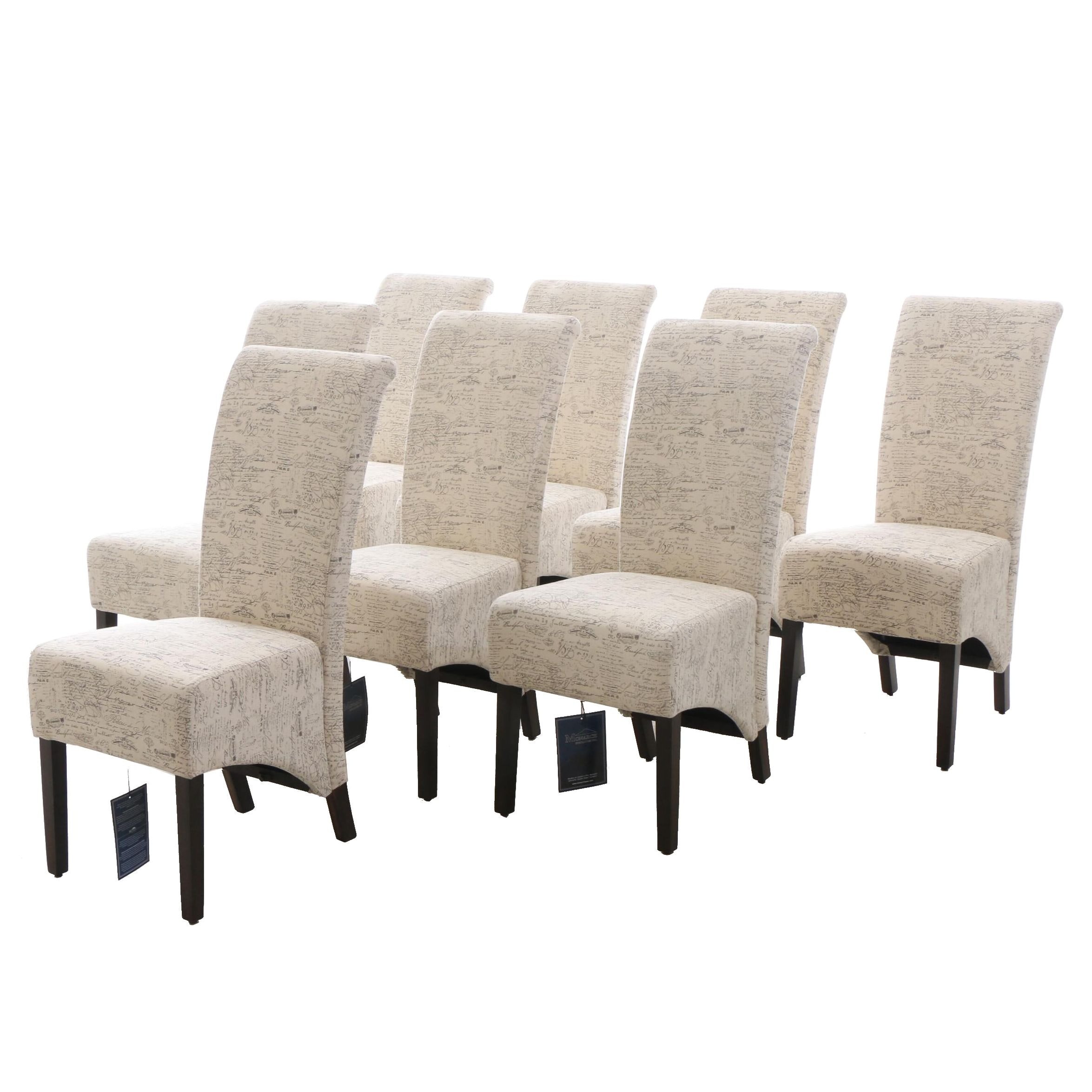 Contemporary Padded Side Chairs by Monarch