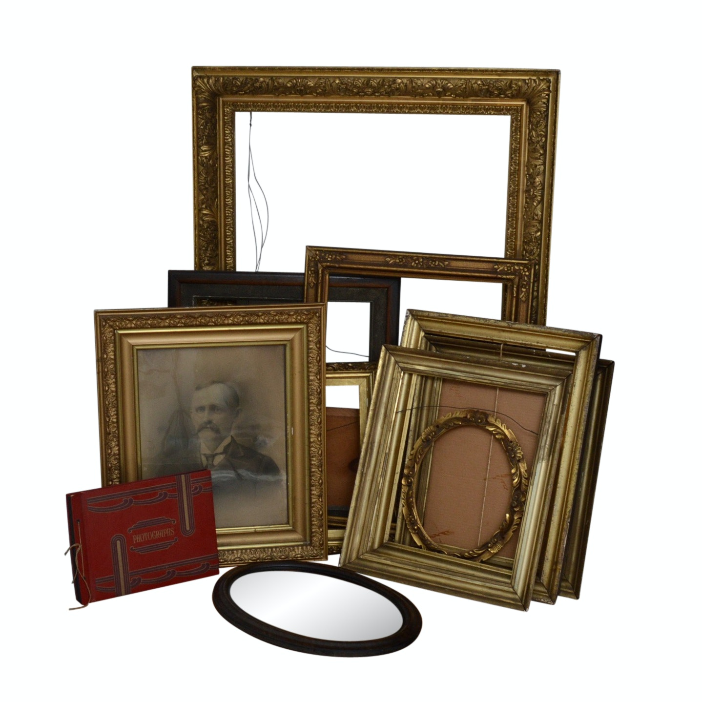 Collection of Gesso Picture Frames and More
