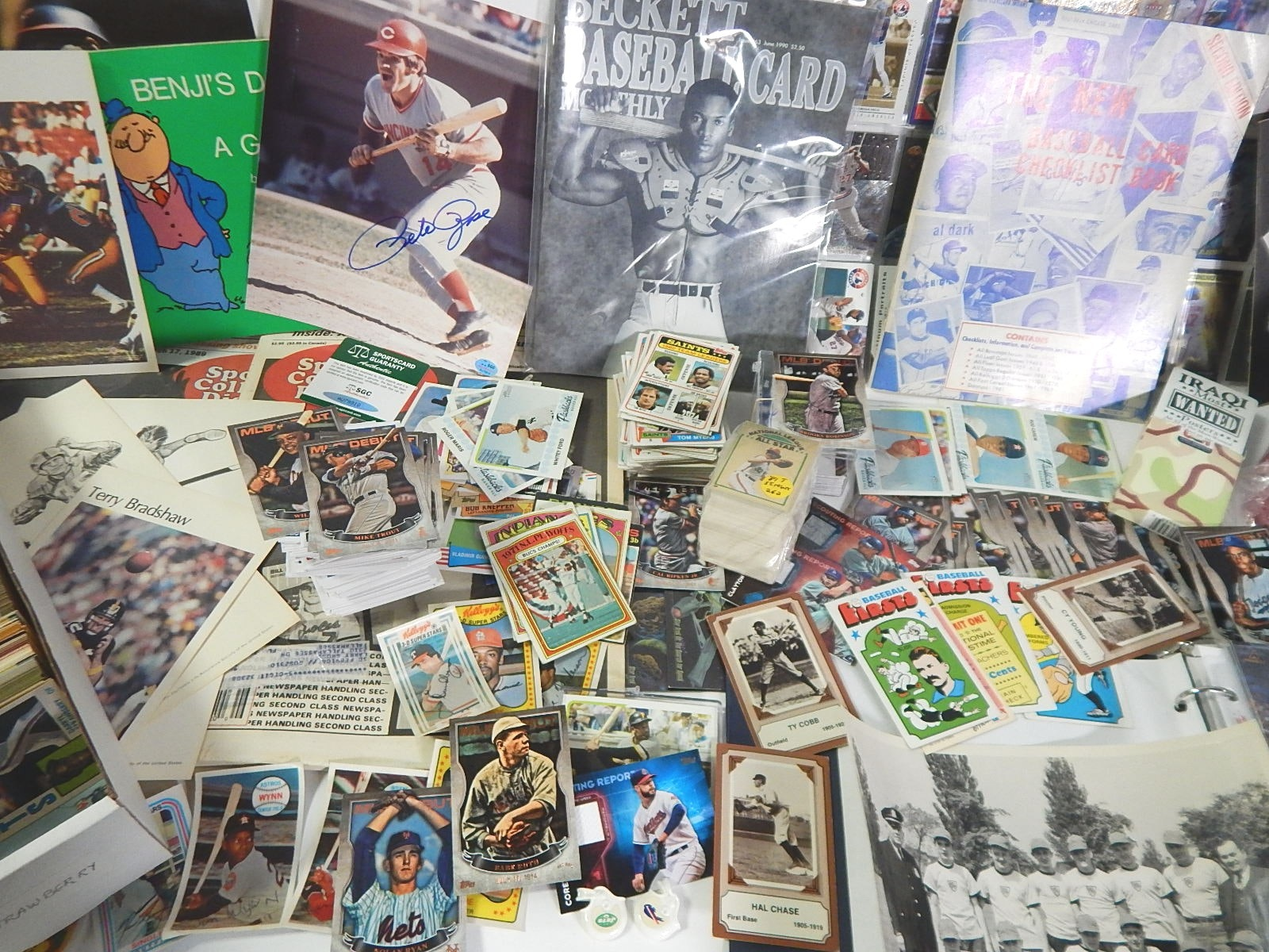 Sports Cards and Collectibles, 1970s to 2000s