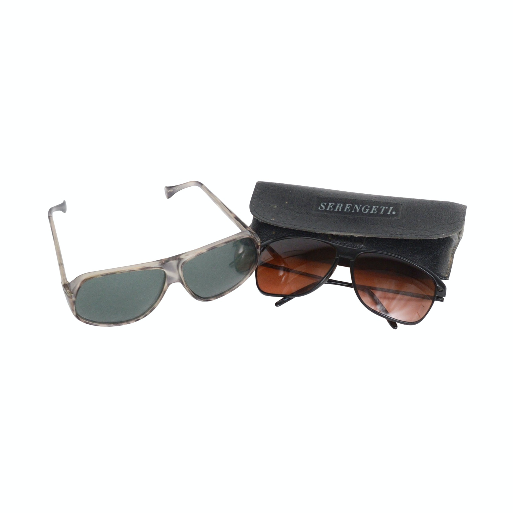Serengeti Drivers and Italian Frame Sunglasses