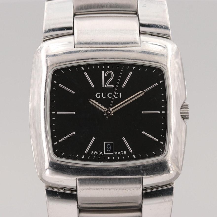 817042fe9c6 Gucci 8500M Stainless Steel Quartz Wristwatch