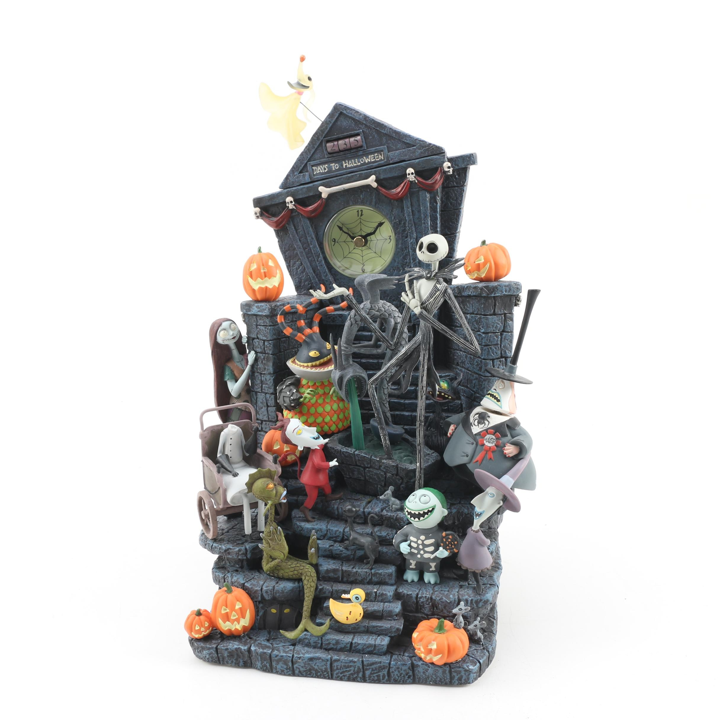 "Disney ""The Nightmare Before Christmas"" Mantel Clock"