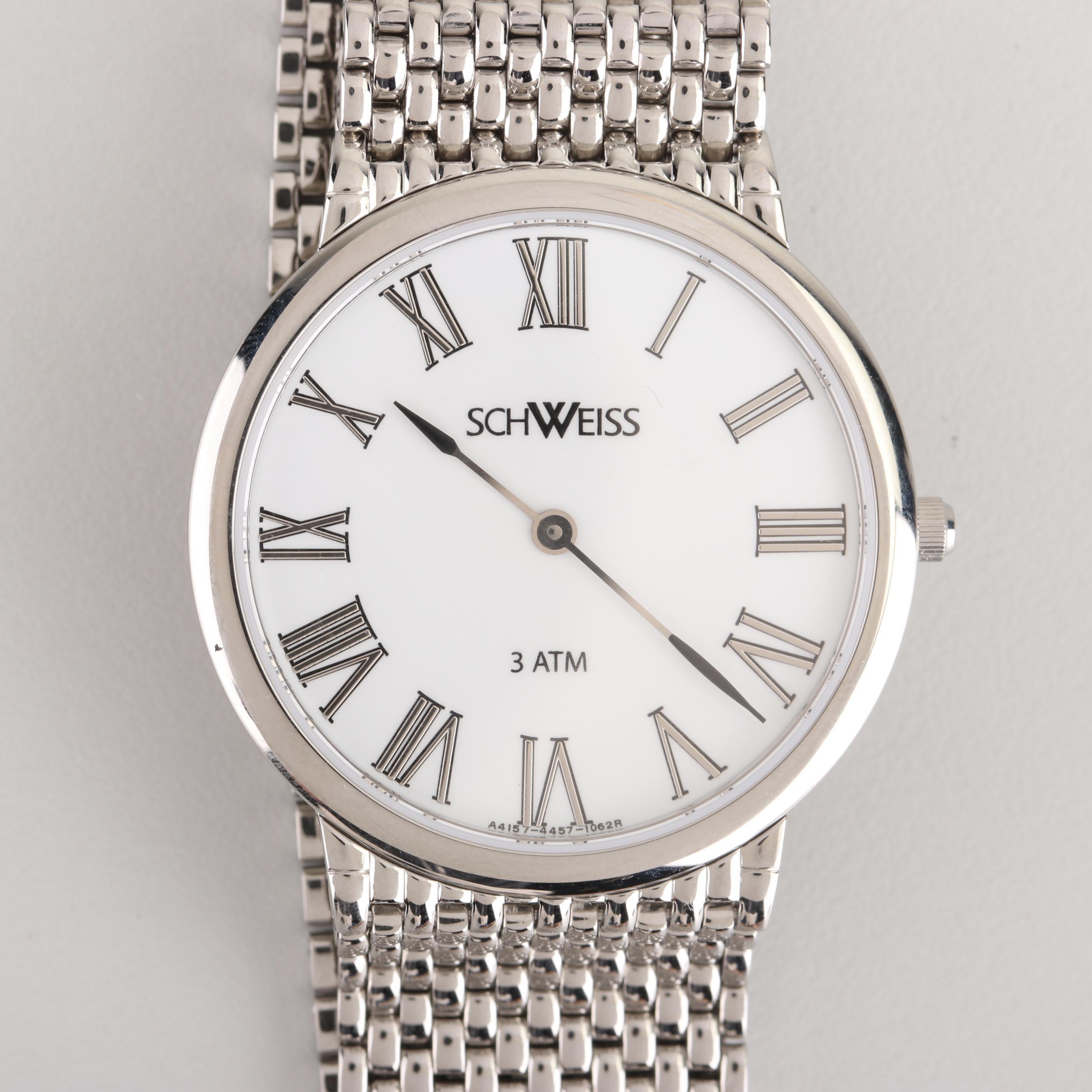 Schweiss Swiss Stainless Steel Wristwatch