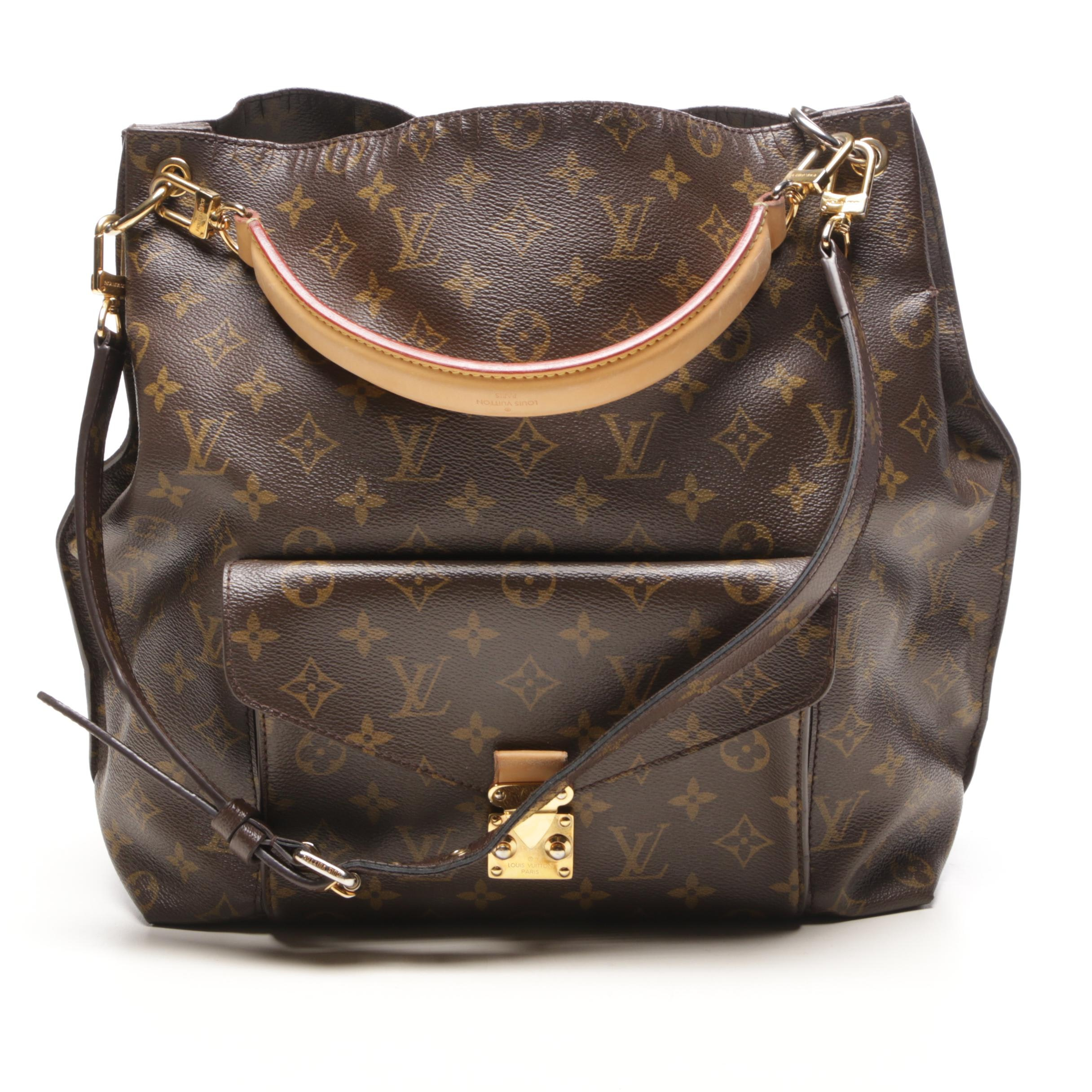 Louis Vuitton Paris Monogram Canvas Metis Shoulder Bag